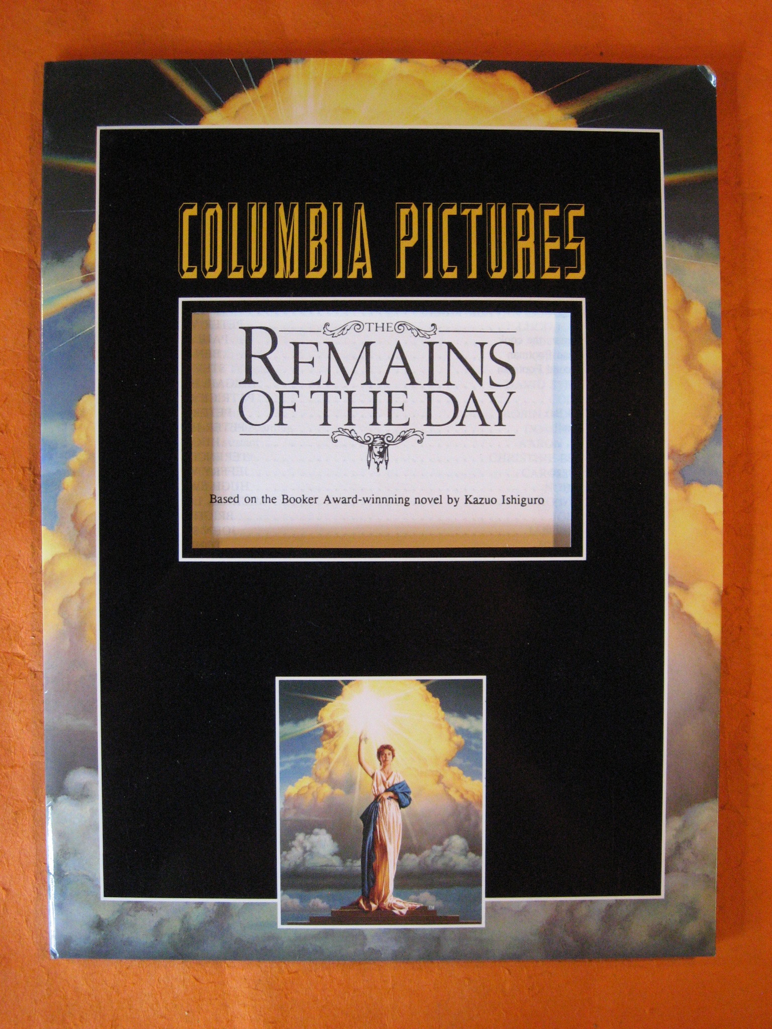 Remains of the Day Press Packet, The, Ivory, James; Nichols, Mike; Calley, John