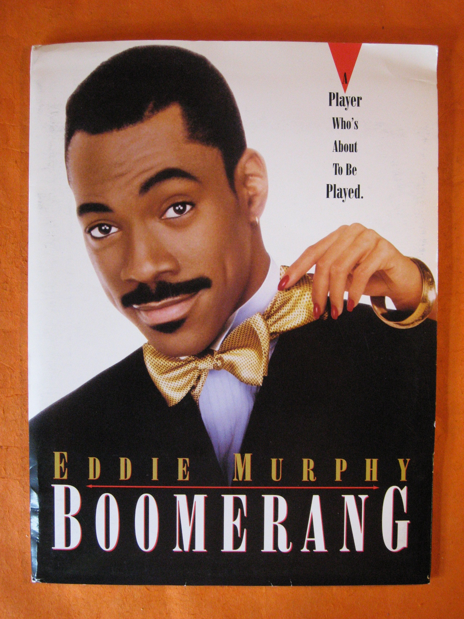 Boomerang [Eddie Murphy, 1991 film] Press Packet, Hudlin, Reginald