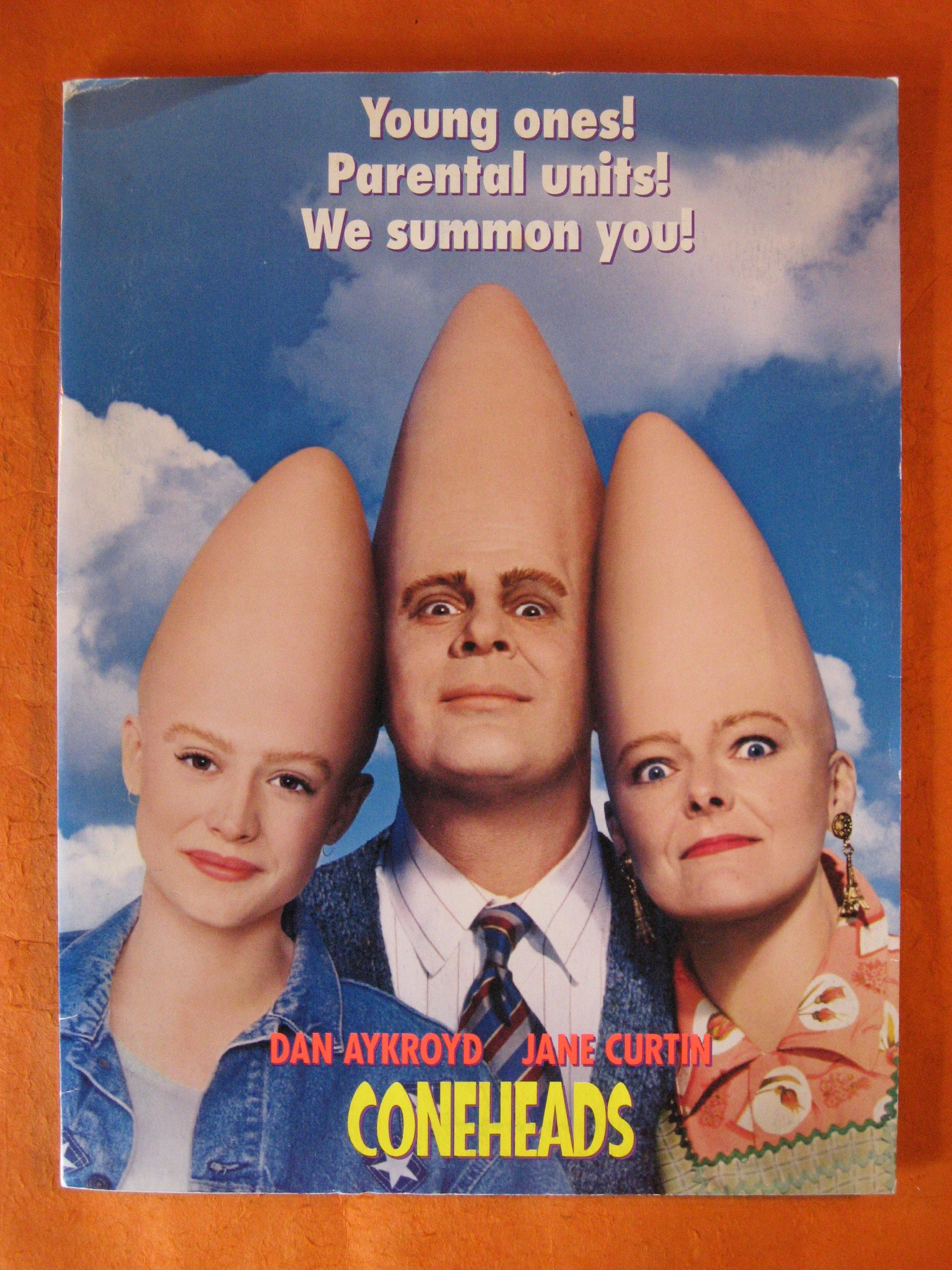 Coneheads  (1993 Film) Press Packet, Aykroyd, Dan; Curtin, Jane; Michaels, Lorne