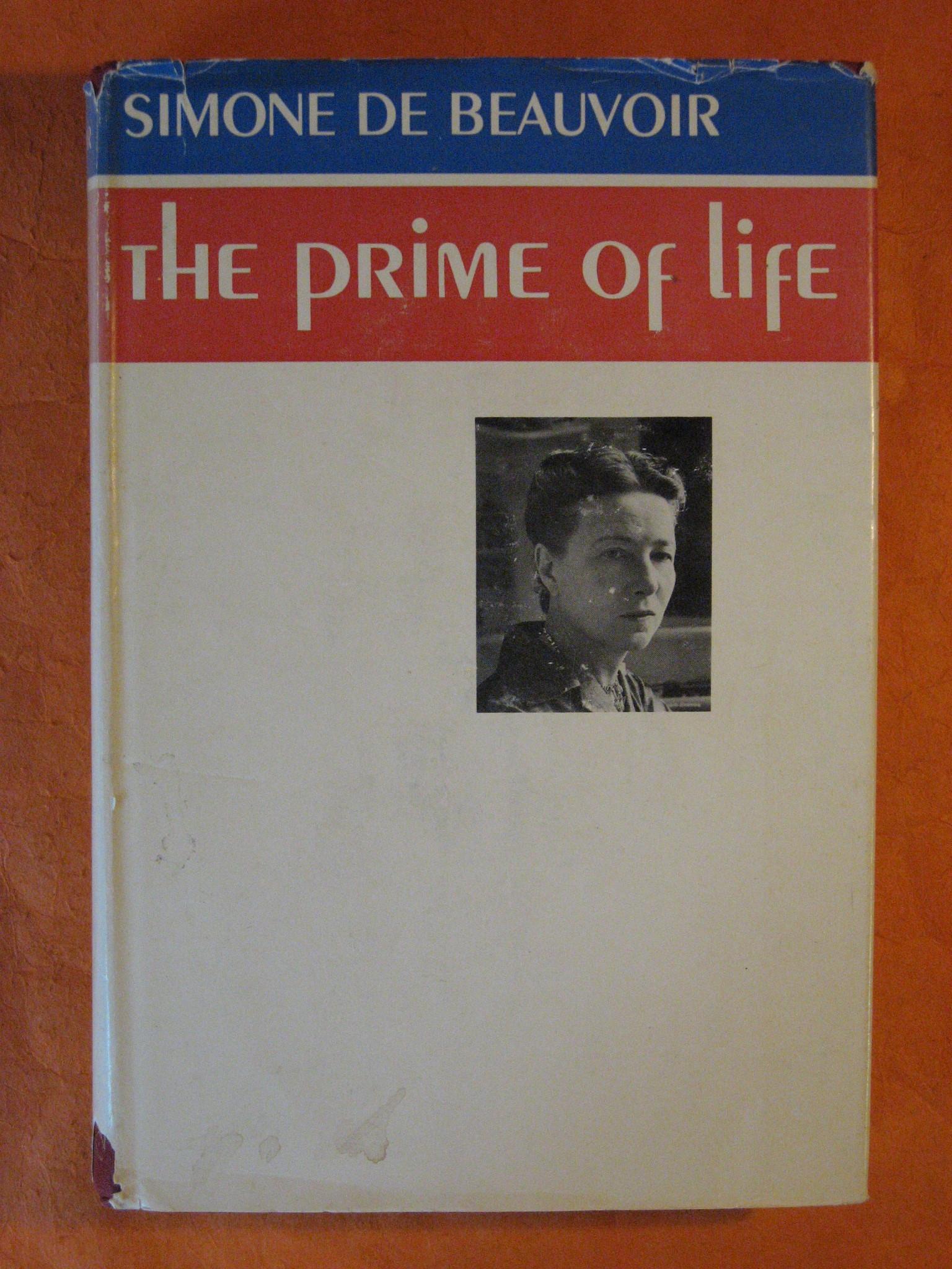 The Prime of Life, De Beauvoir, Simone