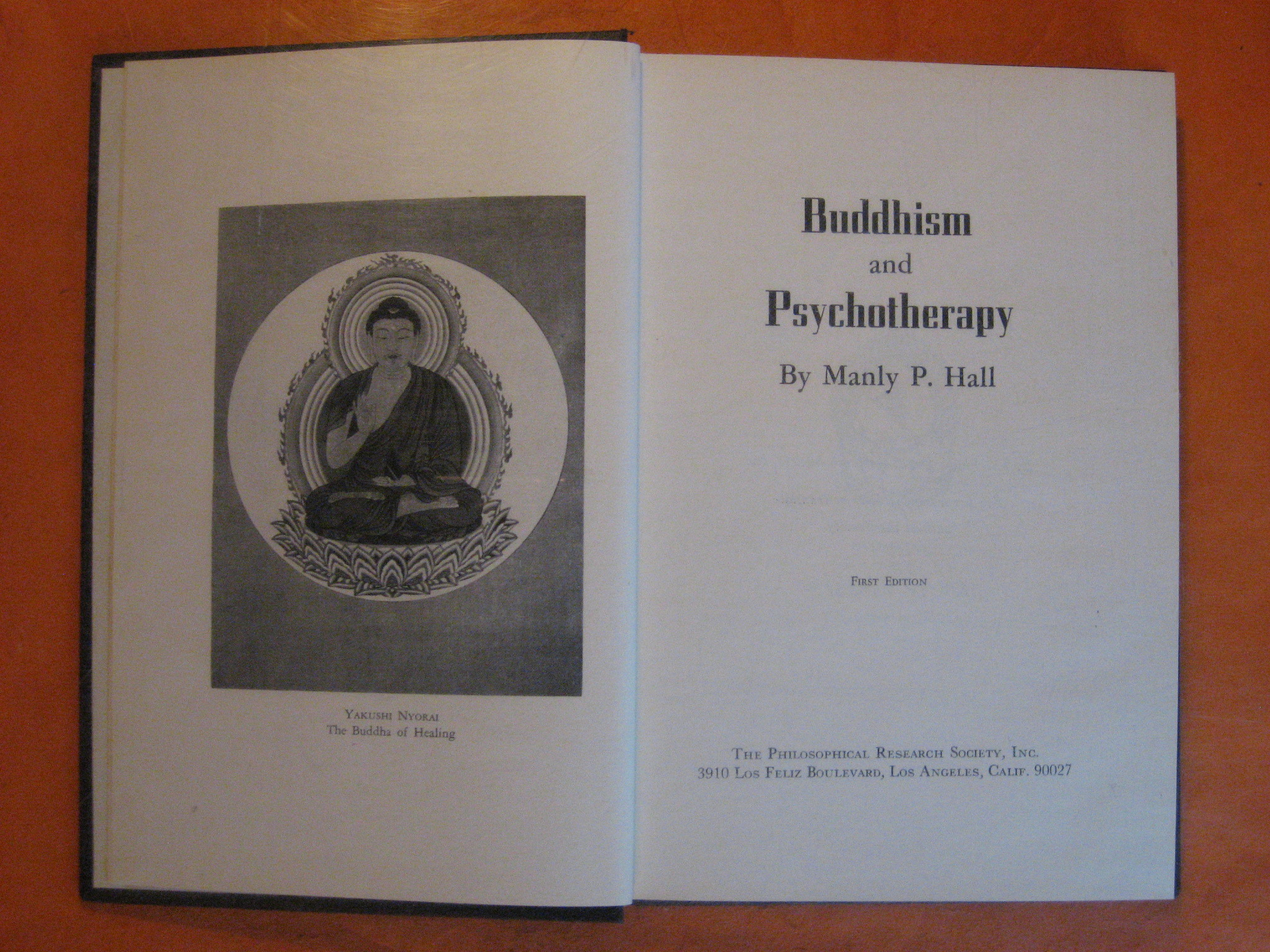 Buddhism and Psychotherapy, Hall, Manly P.