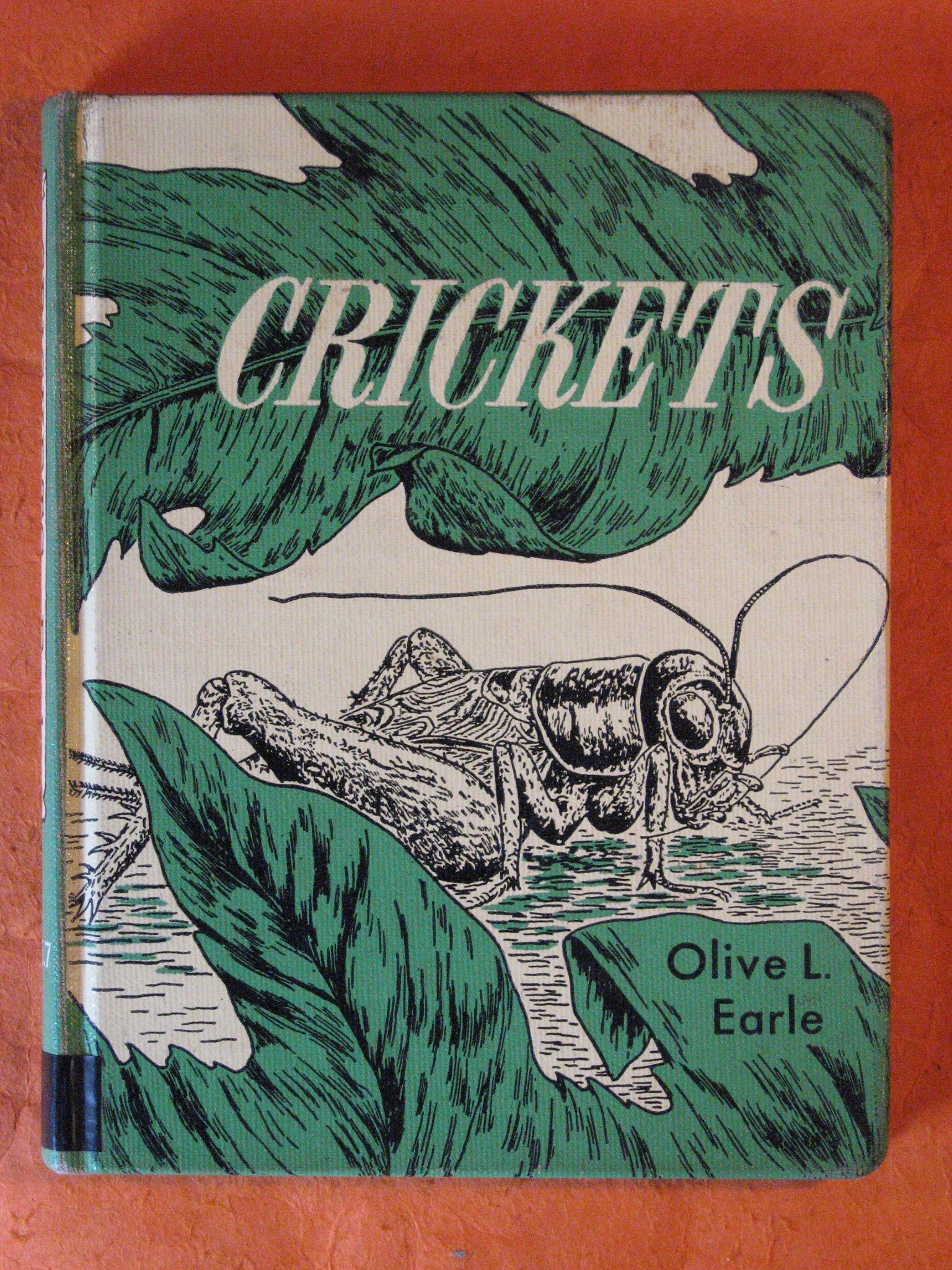 Crickets, Earle, Olive L.