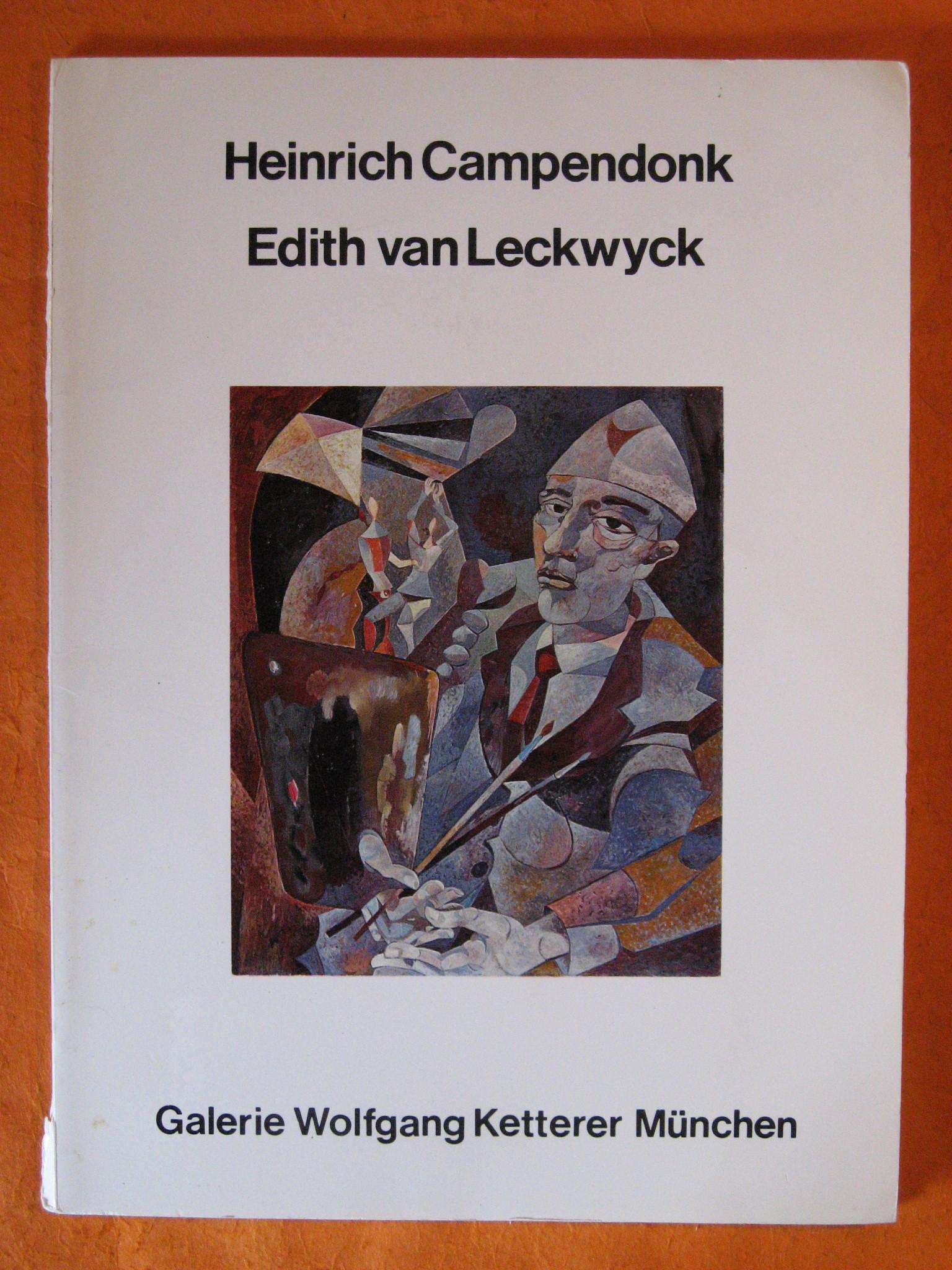 Heinrich Campendonk / Edith Van Leckwyck