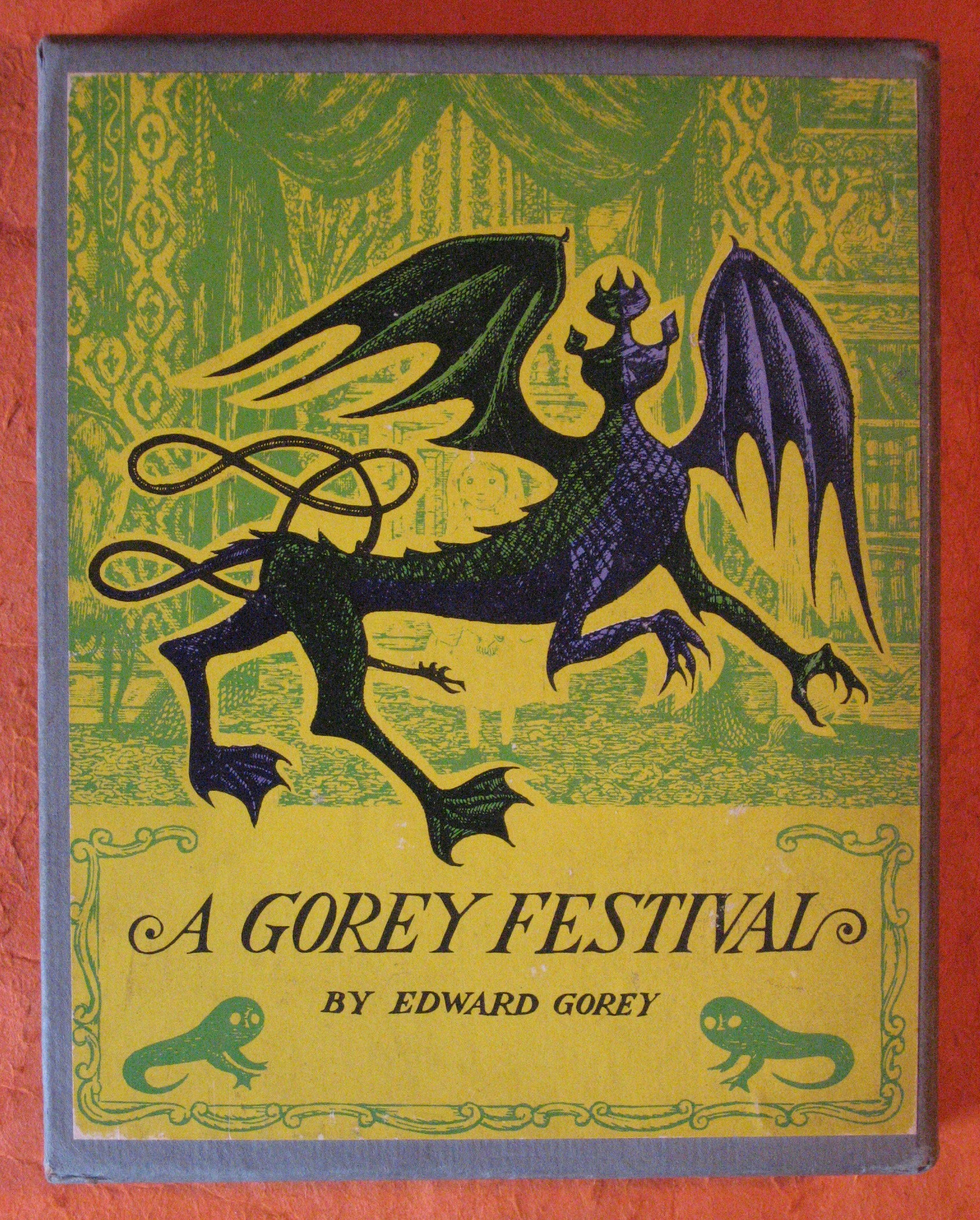 A Gorey Festival: The Hapless Child / The Sinking Spell / The Fatal Lozenge / The Curious Sofa ( Four Volume Set in Slipcase), Gorey, Edward