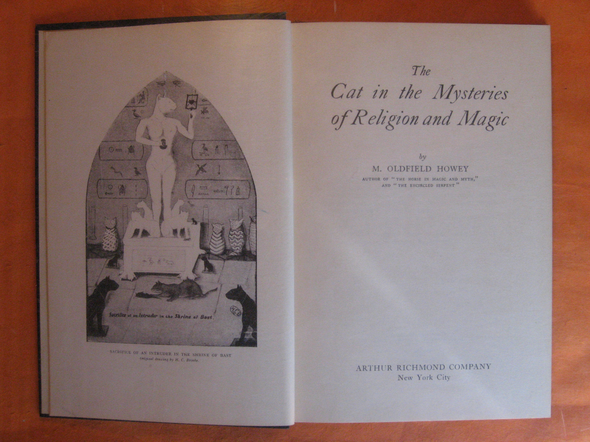 The Cat in the Mysteries of Religion and Magic, Howey, M. Oldfield