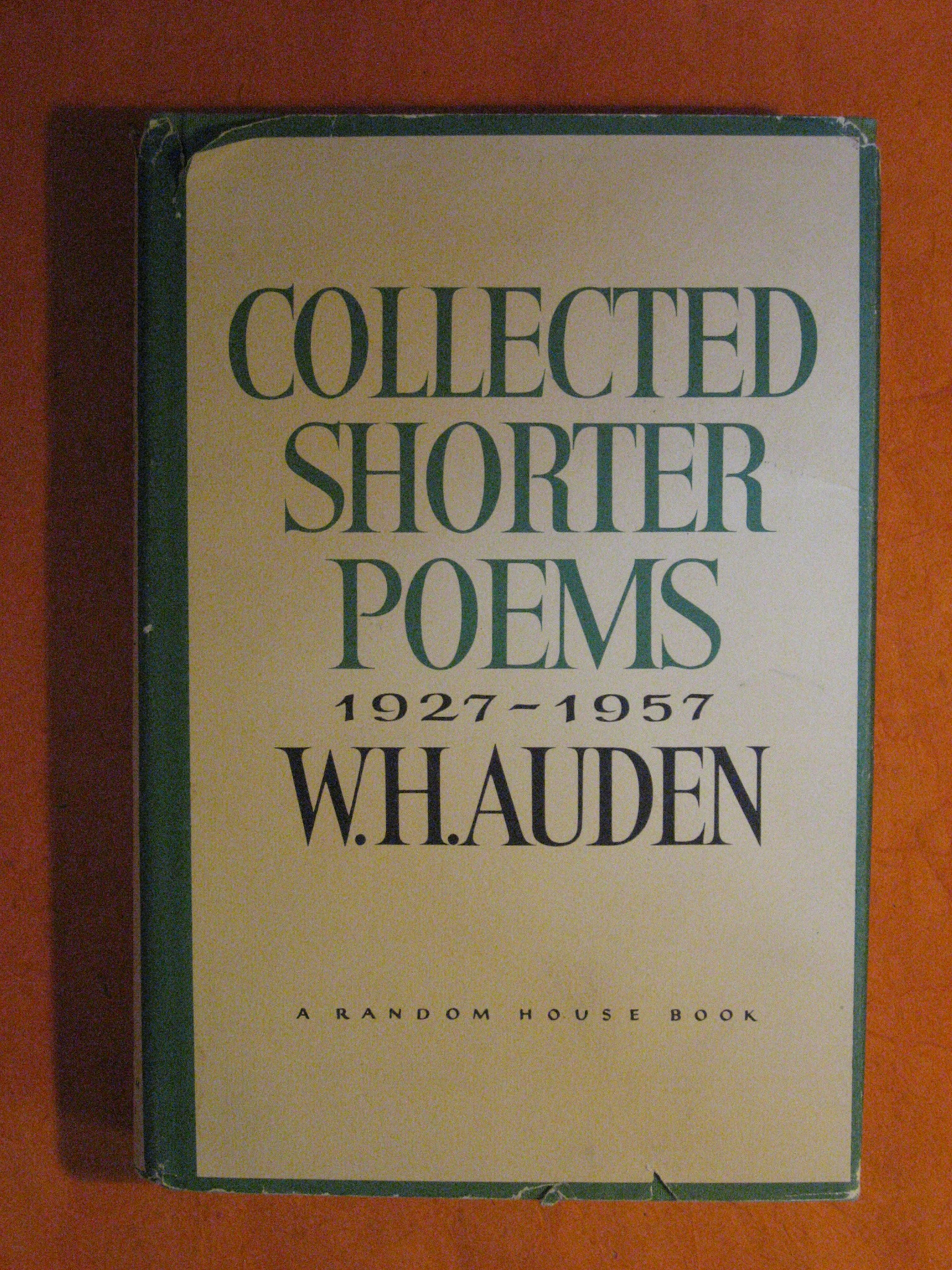 Collected Shorter Poems 1927-1957, Auden, W.H.
