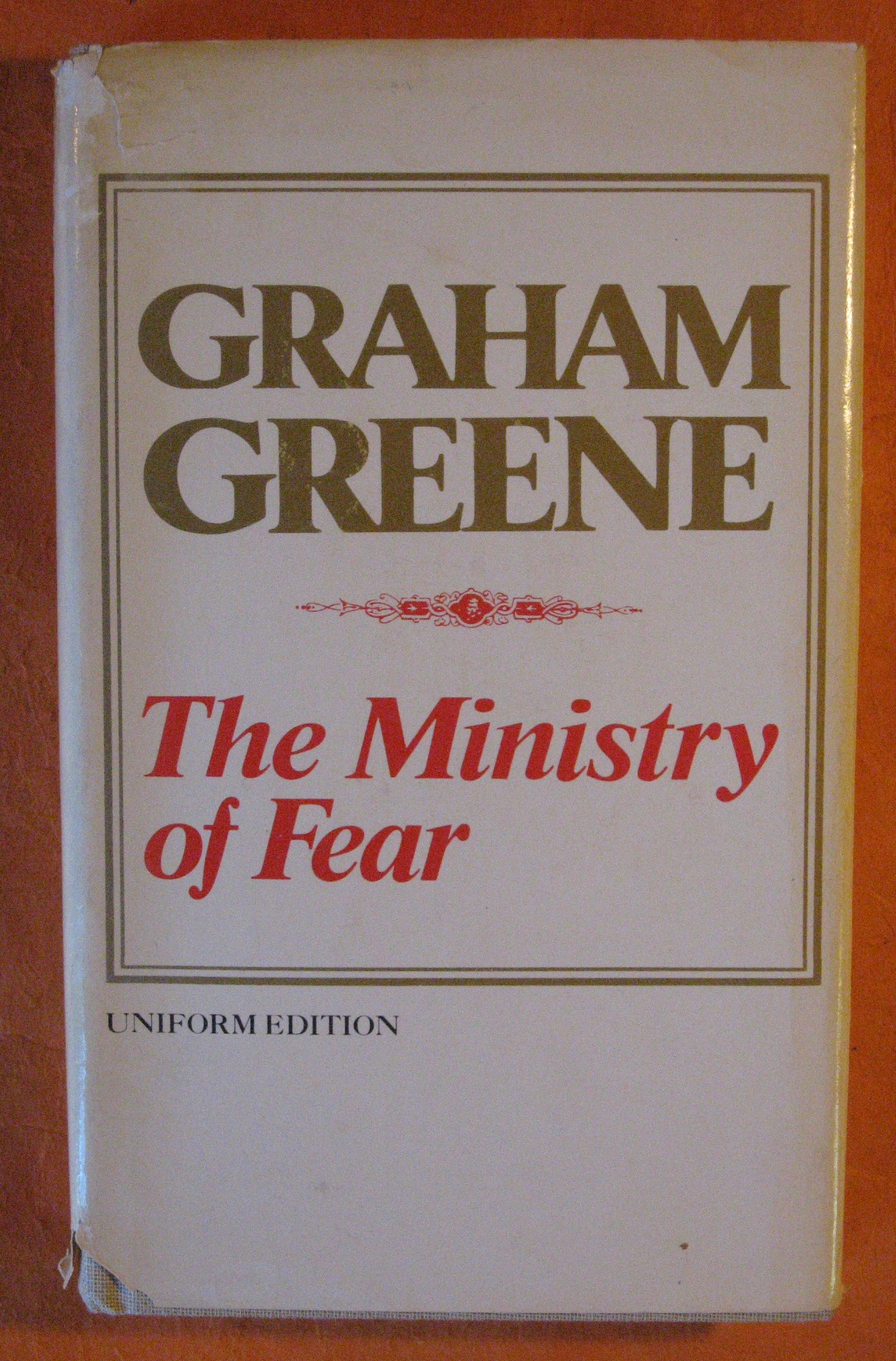 The Ministry of Fear, Greene, Graham