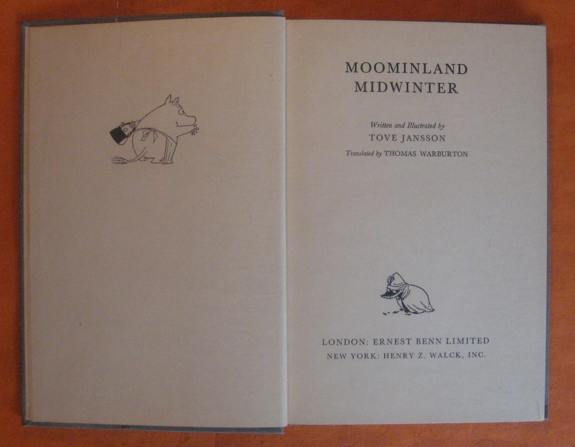 Moominland Midwinter, Jansson, Tove