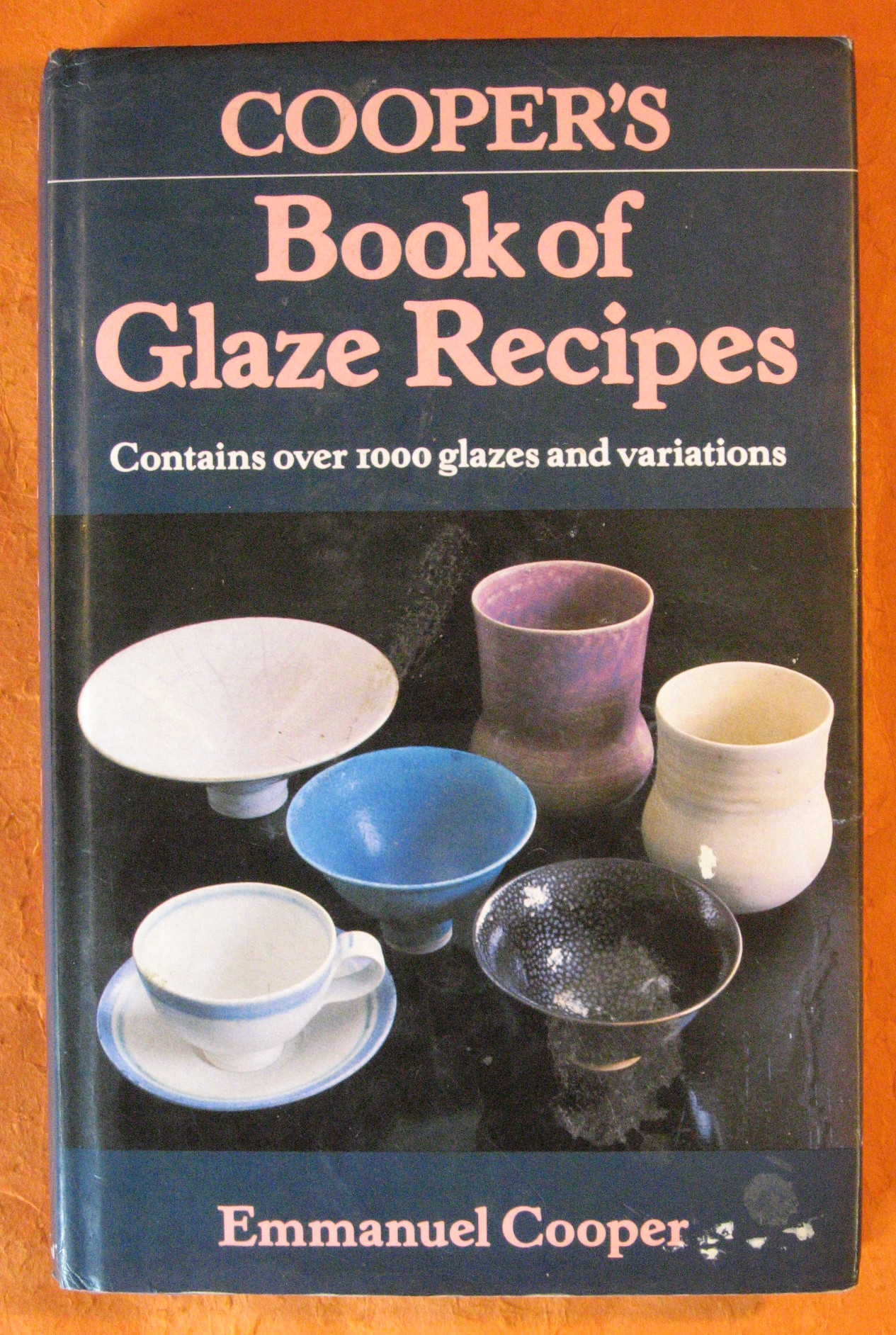 Cooper's Book of Glaze Recipes, Cooper, Emmanuel