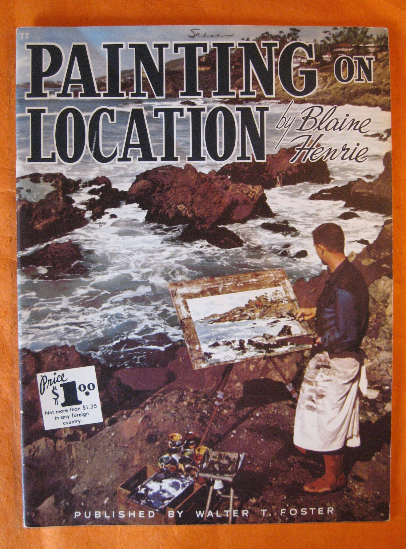 Painting on Location, Henrie, Blaine