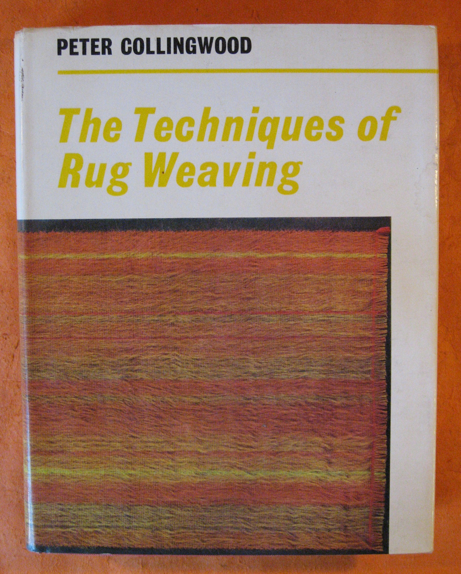 The Techniques of Rug Weaving, Collingwood, Peter