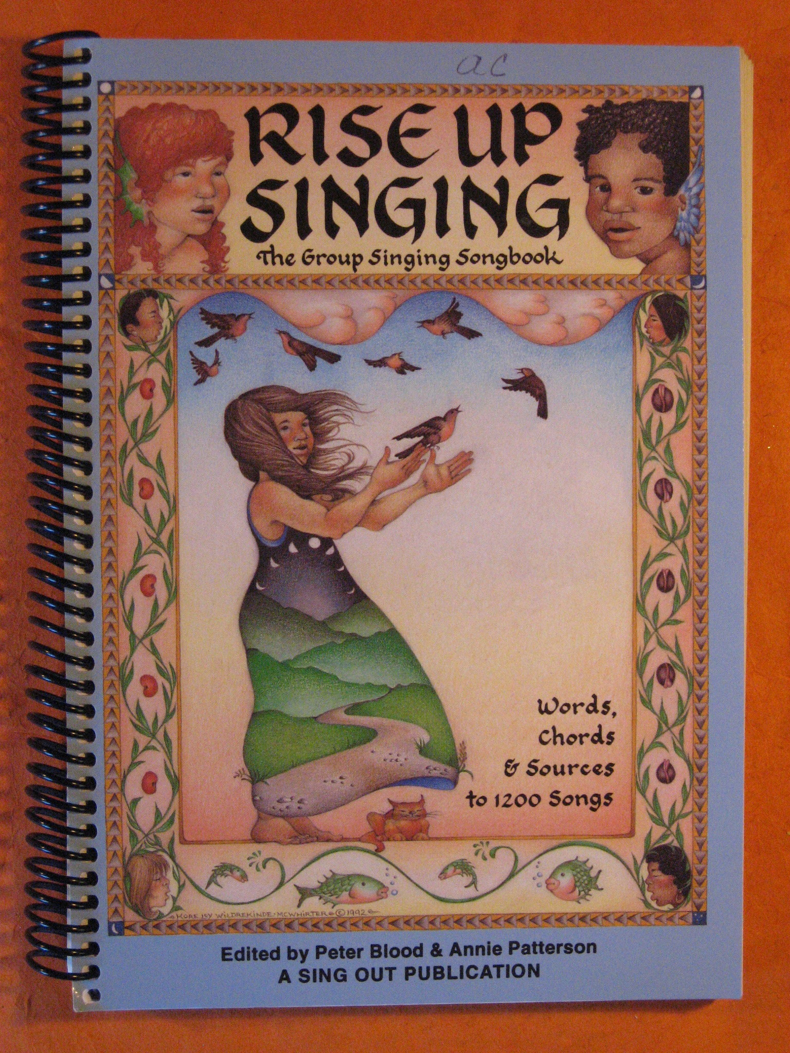 Rise Up Singing:  The Group Singing Songbook, Words, Chords and Sources to 1200 Songs, Blood, Peter; Patterson, Annie
