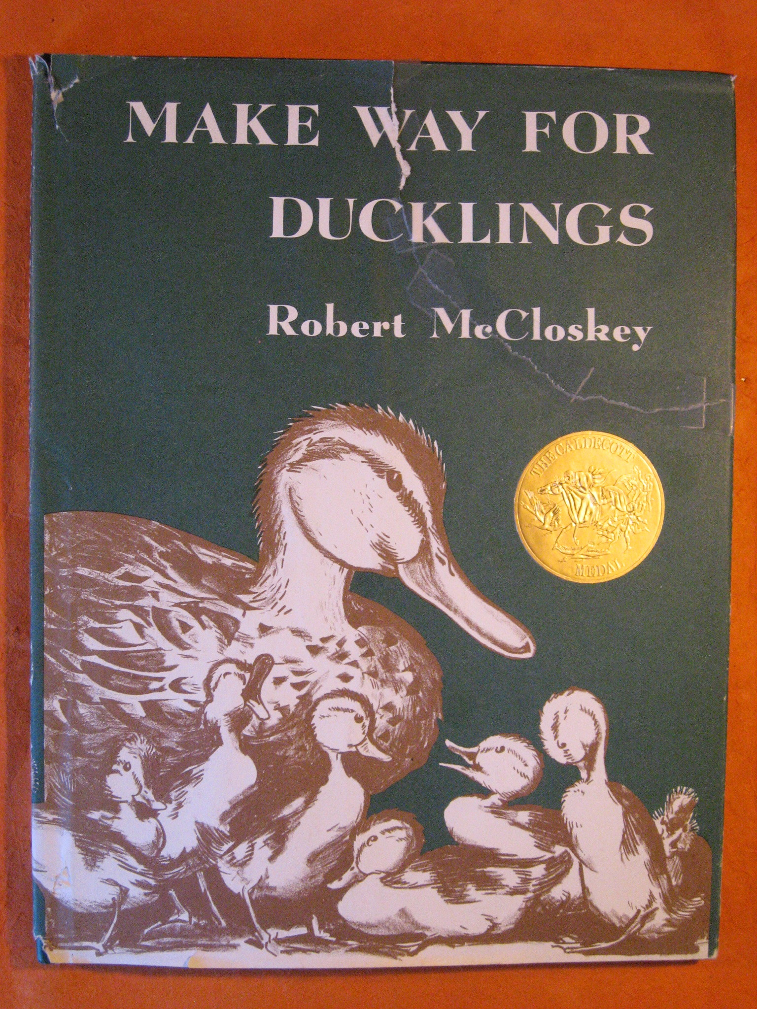 Make Way for Ducklings, McCloskey, Robert