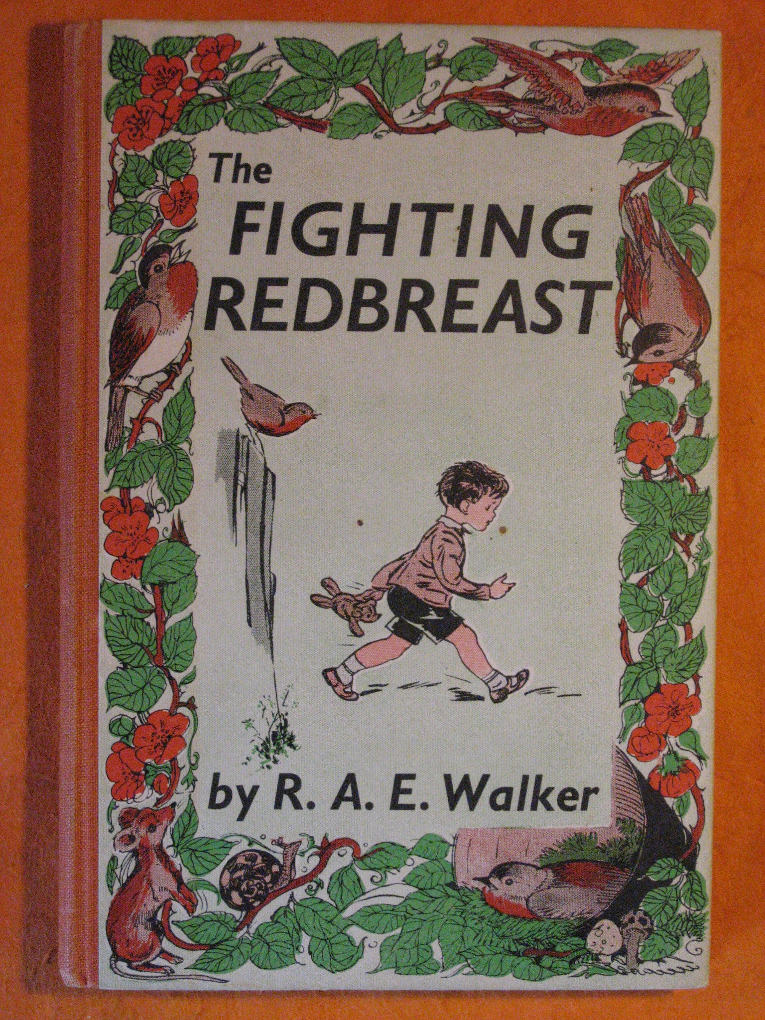 The Fighting Redbreast, Walker, R.A.E.
