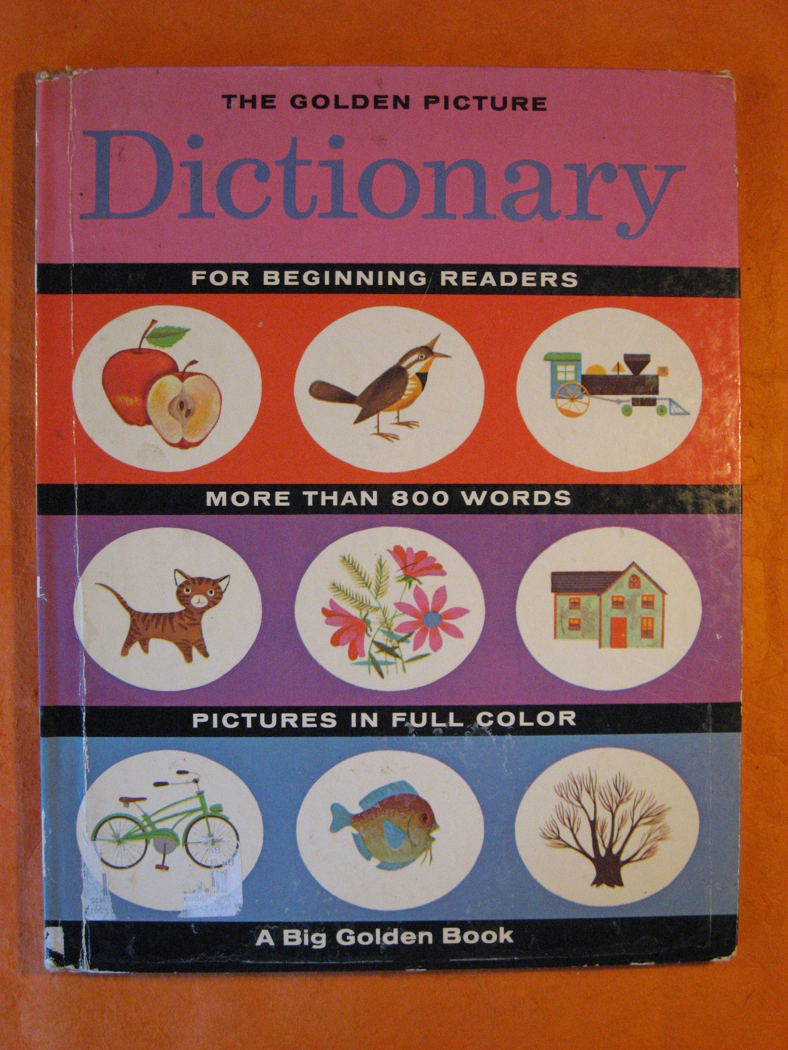 The Golden Picture Dictionary for Beginning Readers