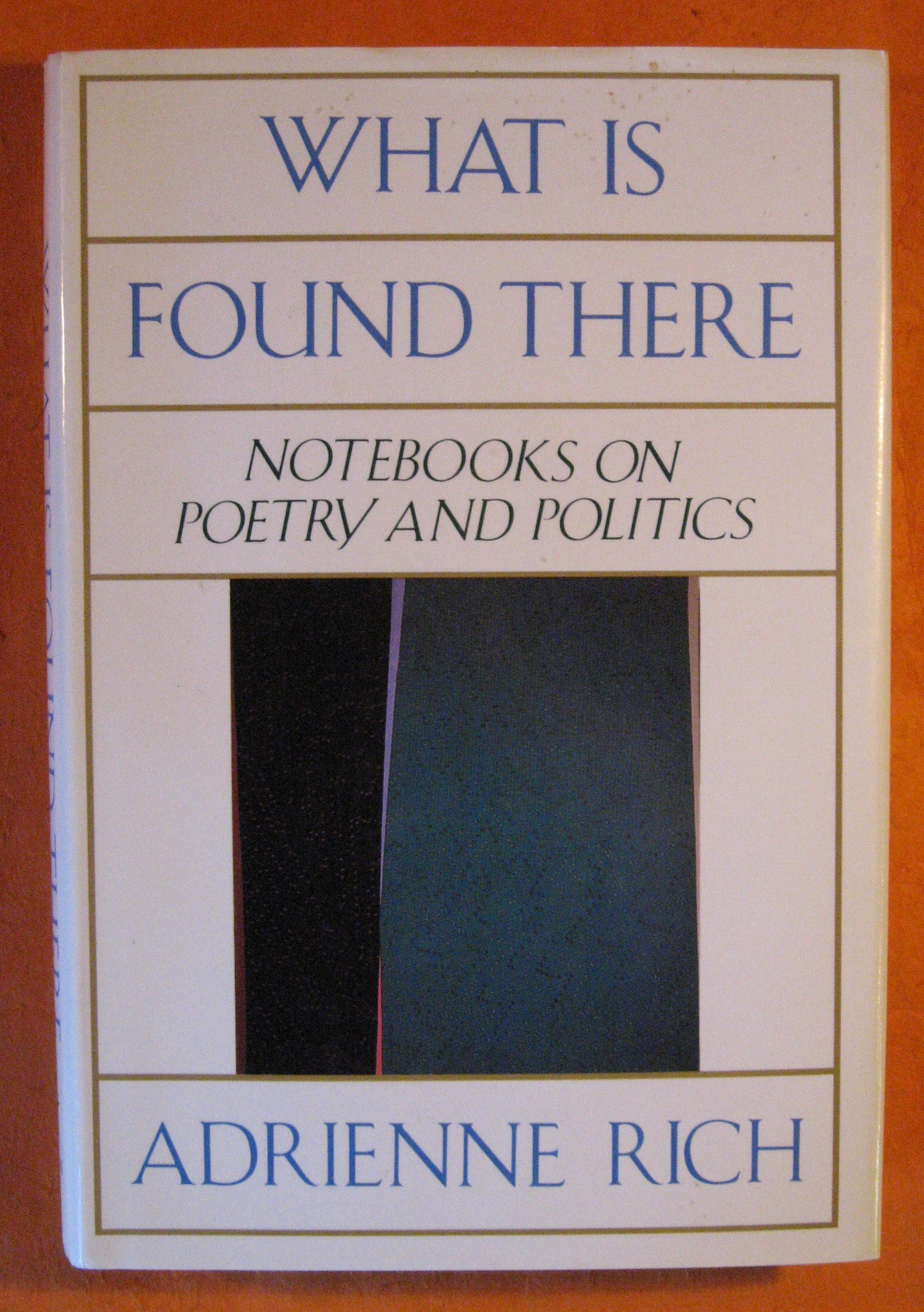 What is Found There: Notebooks on Poetry and Politics, Rich, Adrienne