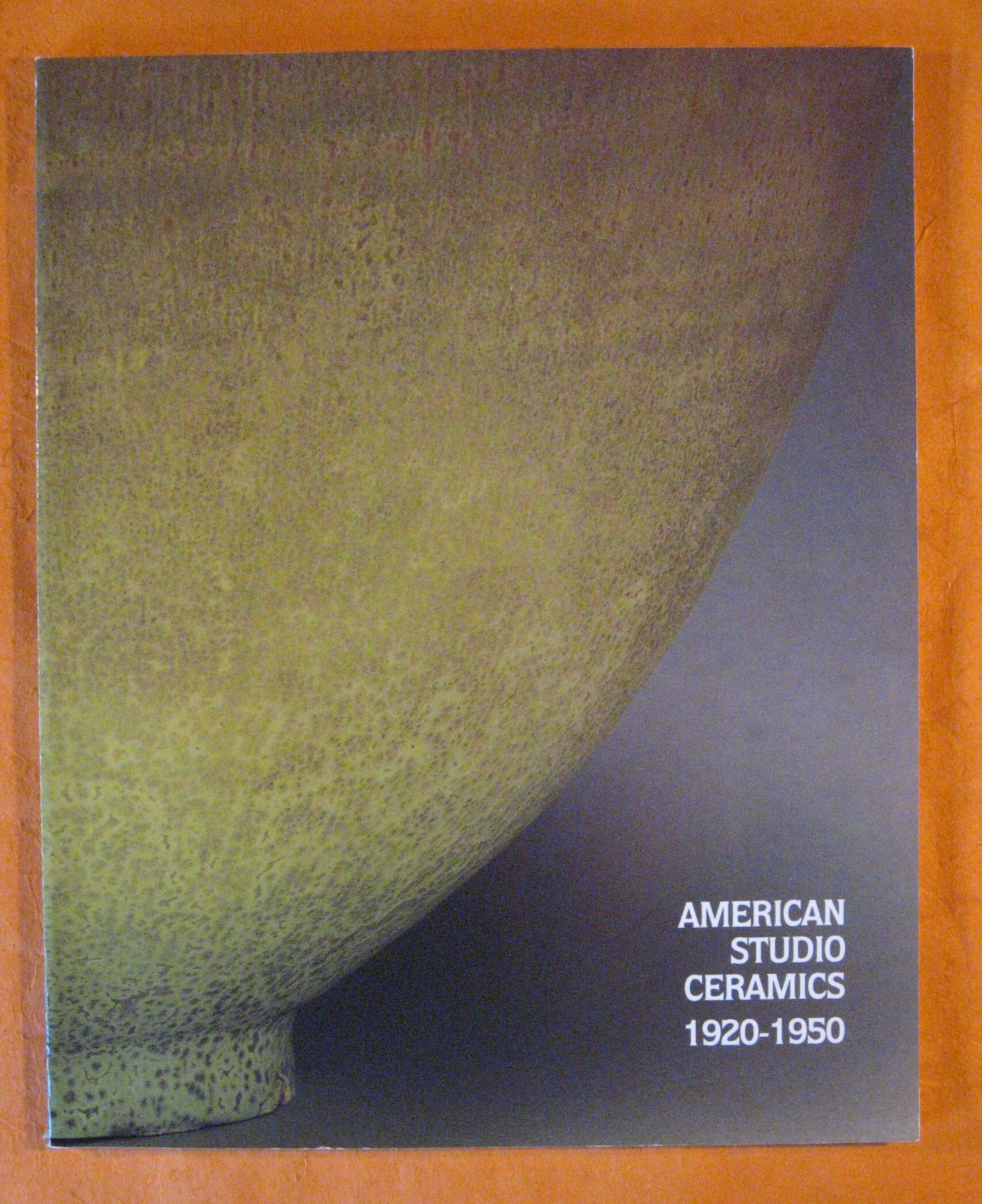 American Studio Ceramics 1920-1950, King, Lyndel
