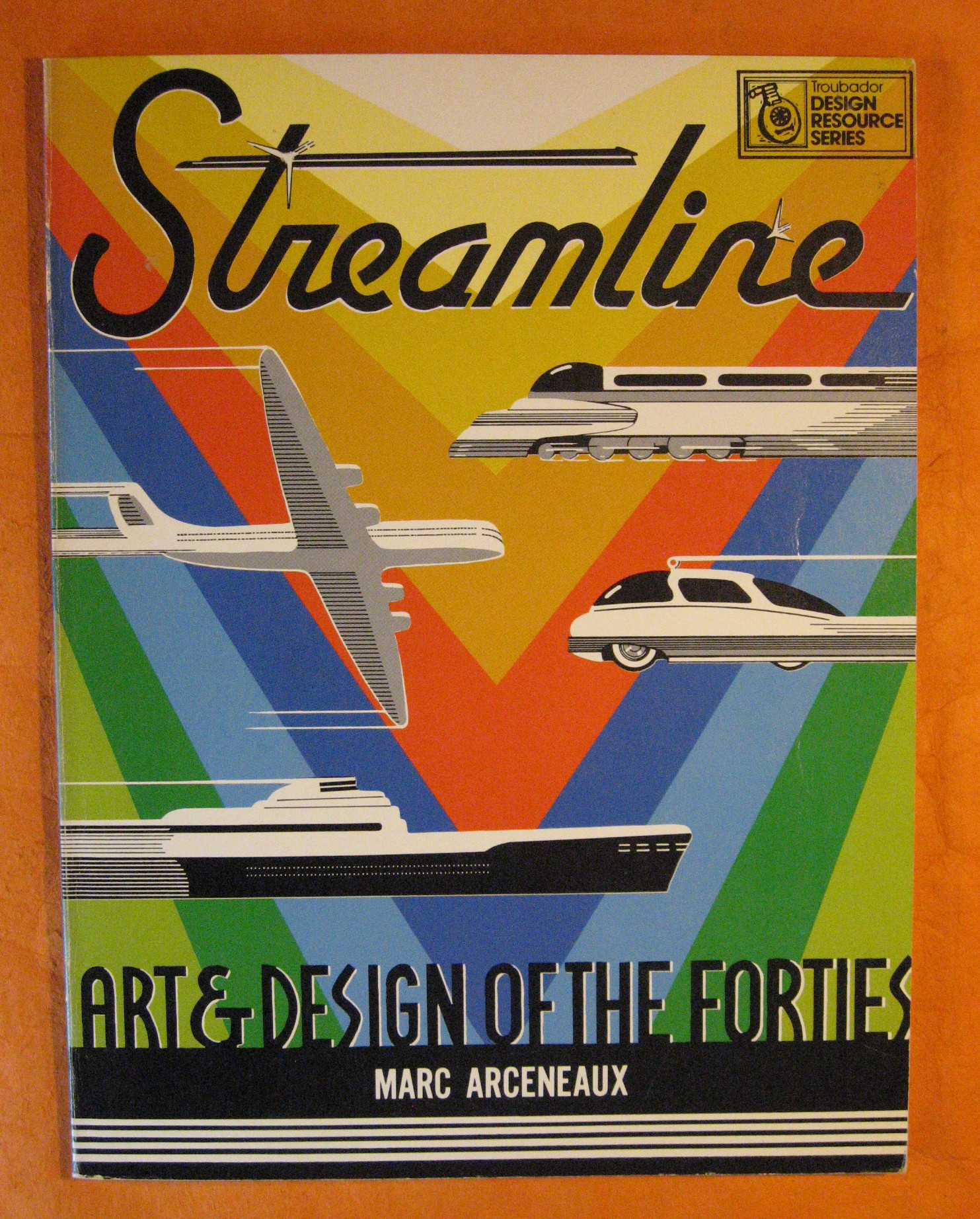 Streamline: Art and Design of the Forties (Design Resource Series), Arceneaux, Marc