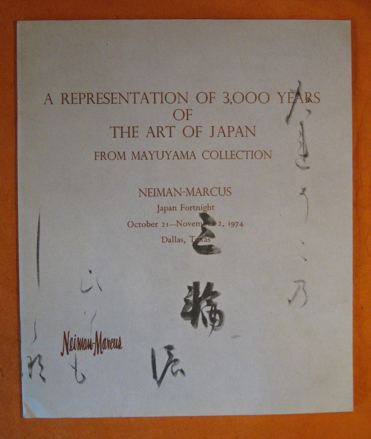 A Representation of 3,000 Years of the Art of Japan from Mayuyama Collection