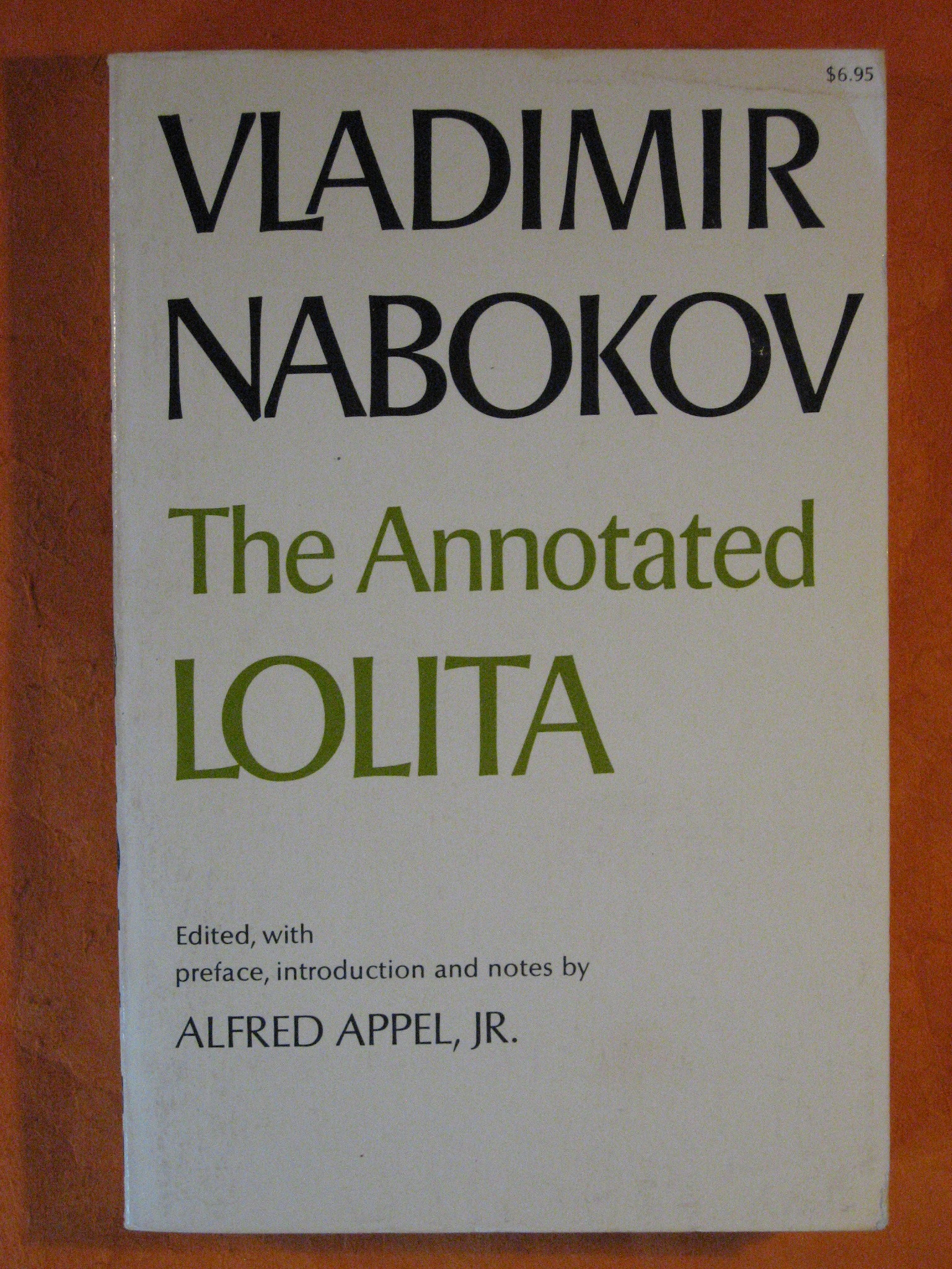 The Annotated Lolita, Nabokov, Vladimir; Alfred Appel, Jr. (editor)