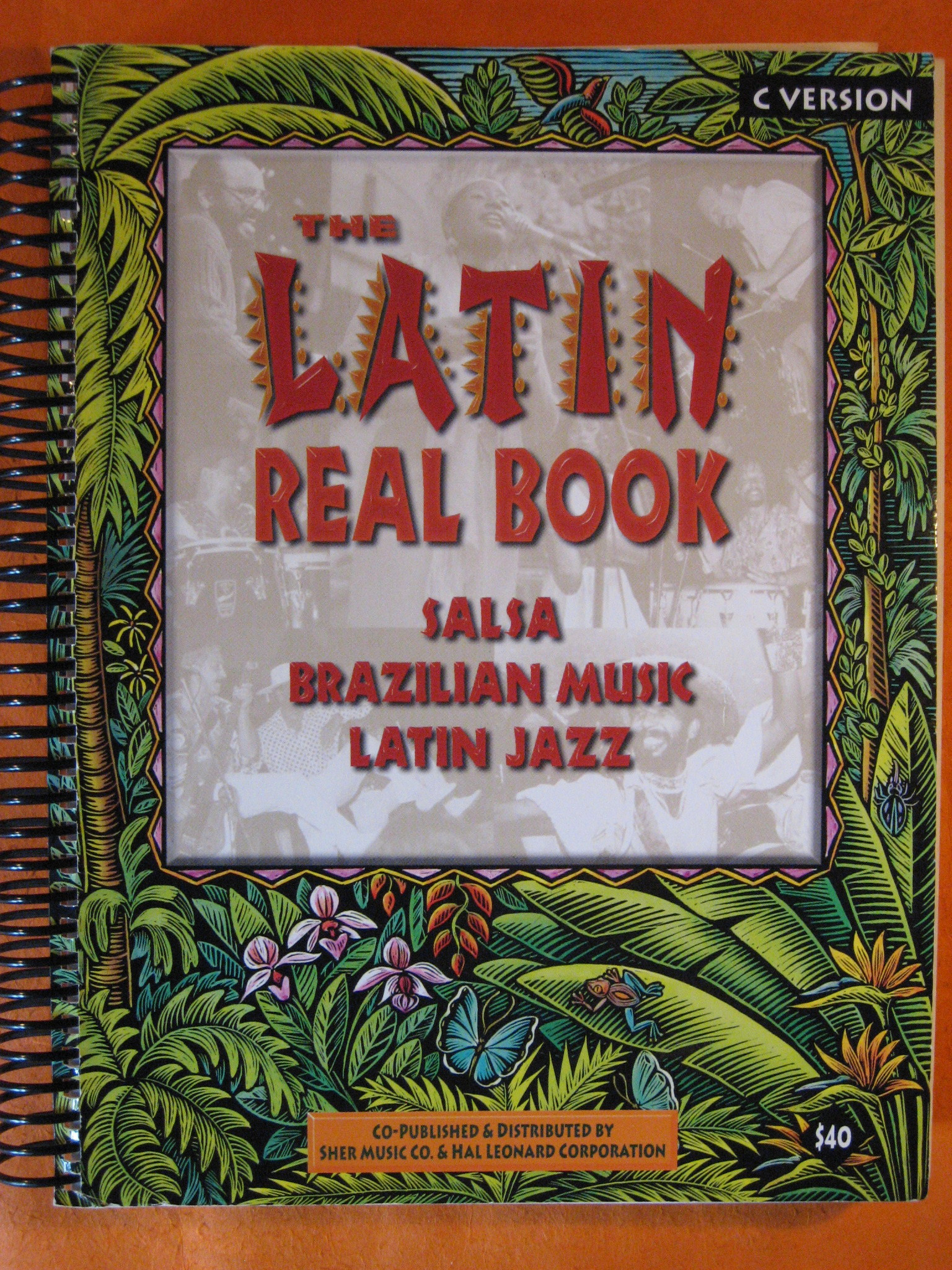 The Latin Real Book C Version, Sher, Chuck