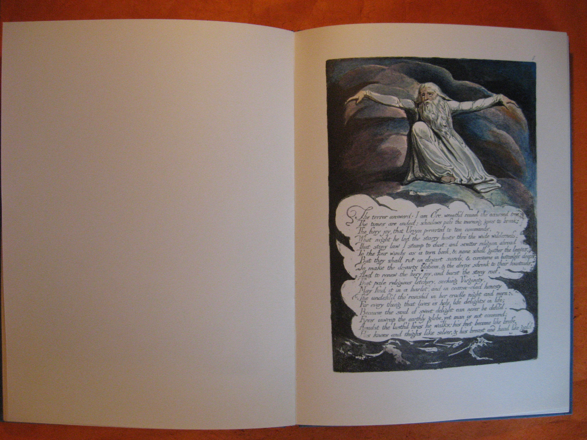 Image for Study of the Illuminated Books of William Blake Poet, Printer, Prophet, A