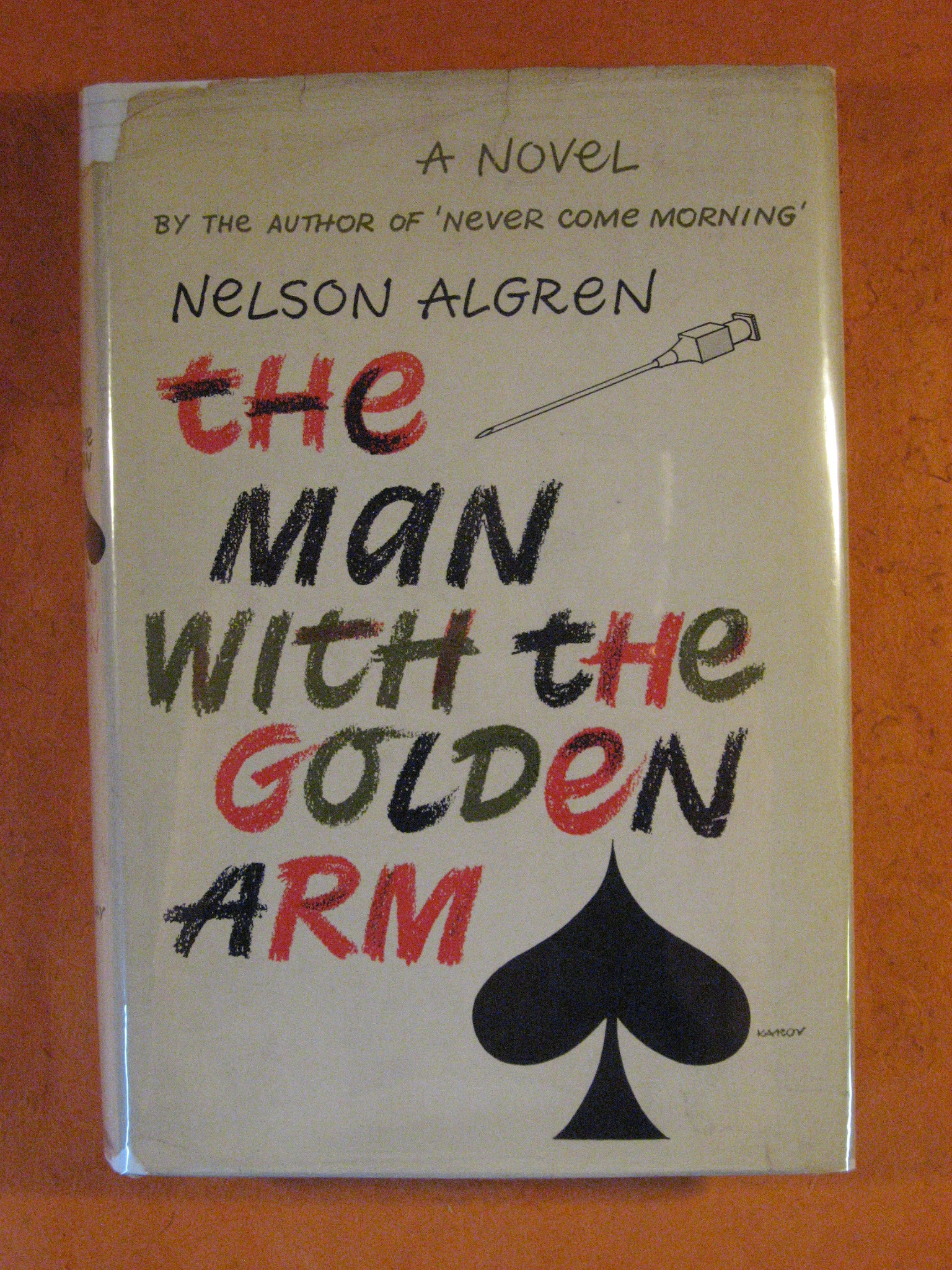 The Man with the Golden Arm, Algren, Nelson