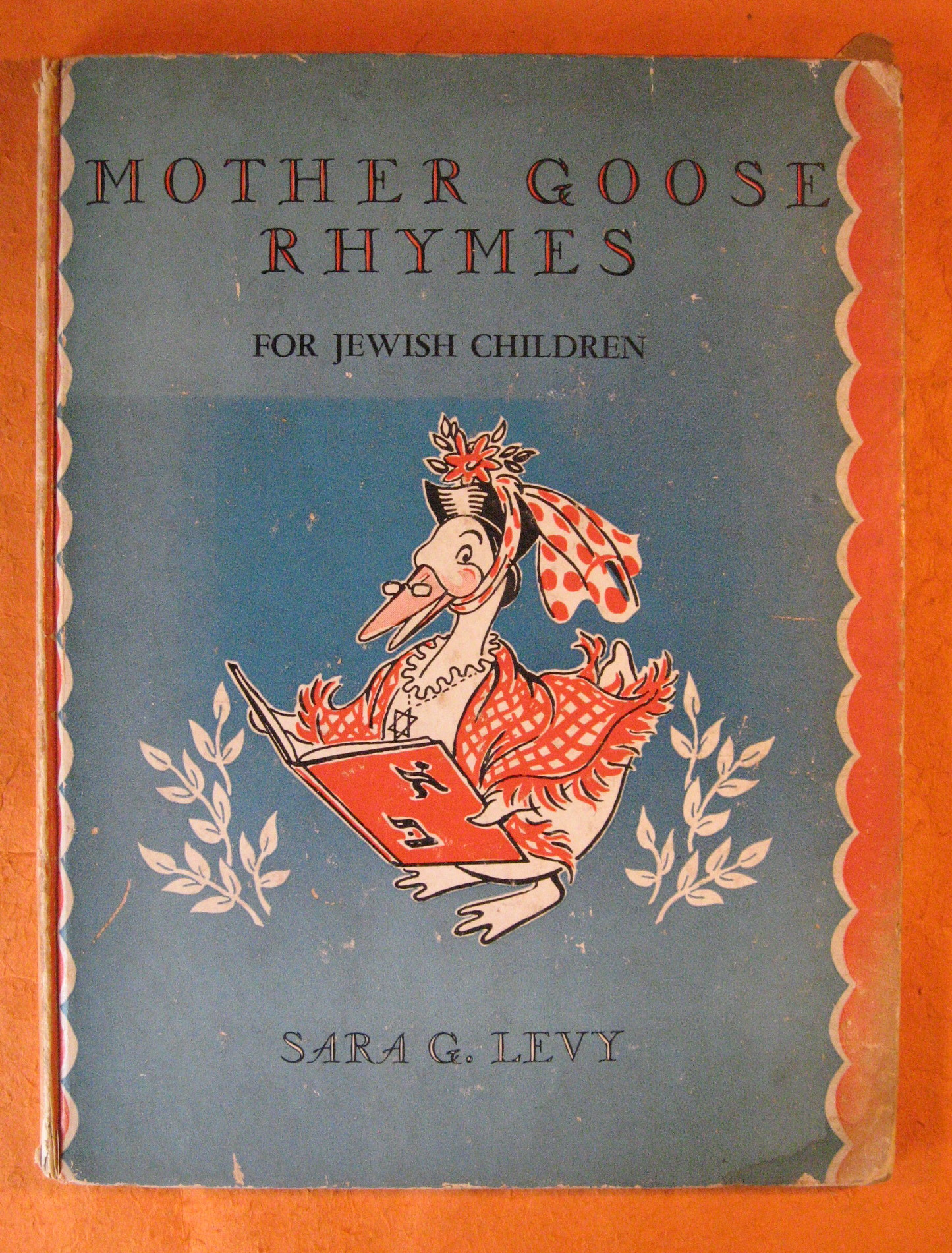 Mother Goose Rhymes for Jewish Children, Levy, Sara G.