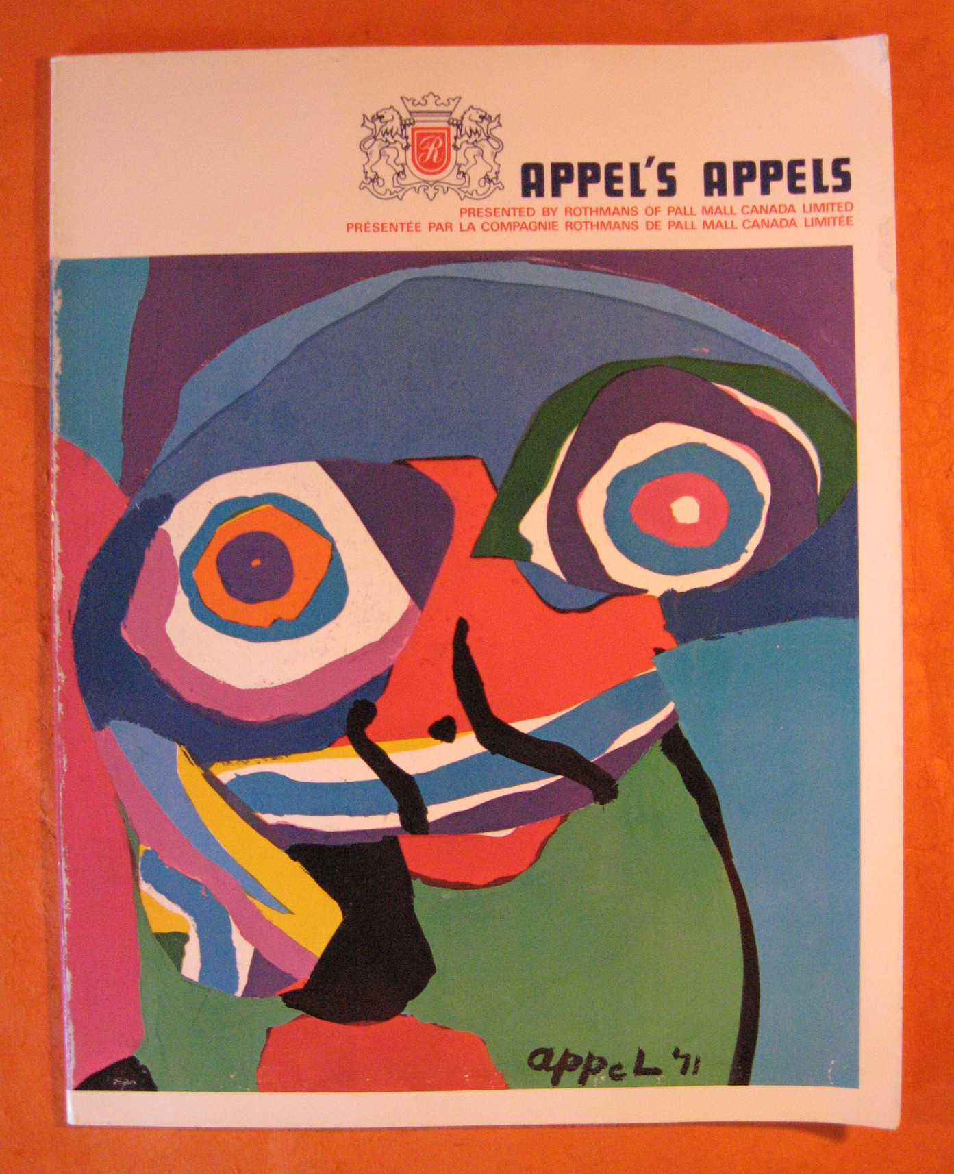 Appel's Appels Presented by Rothmans of Pall Mall, Canada, Appel, Karel
