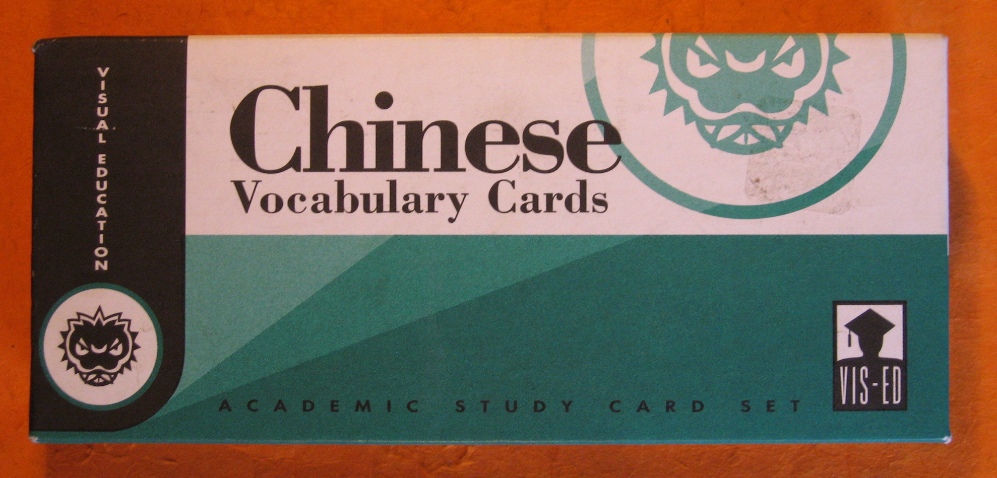 Image for Chinese Vocabulary Cards: Academic Study Card Set