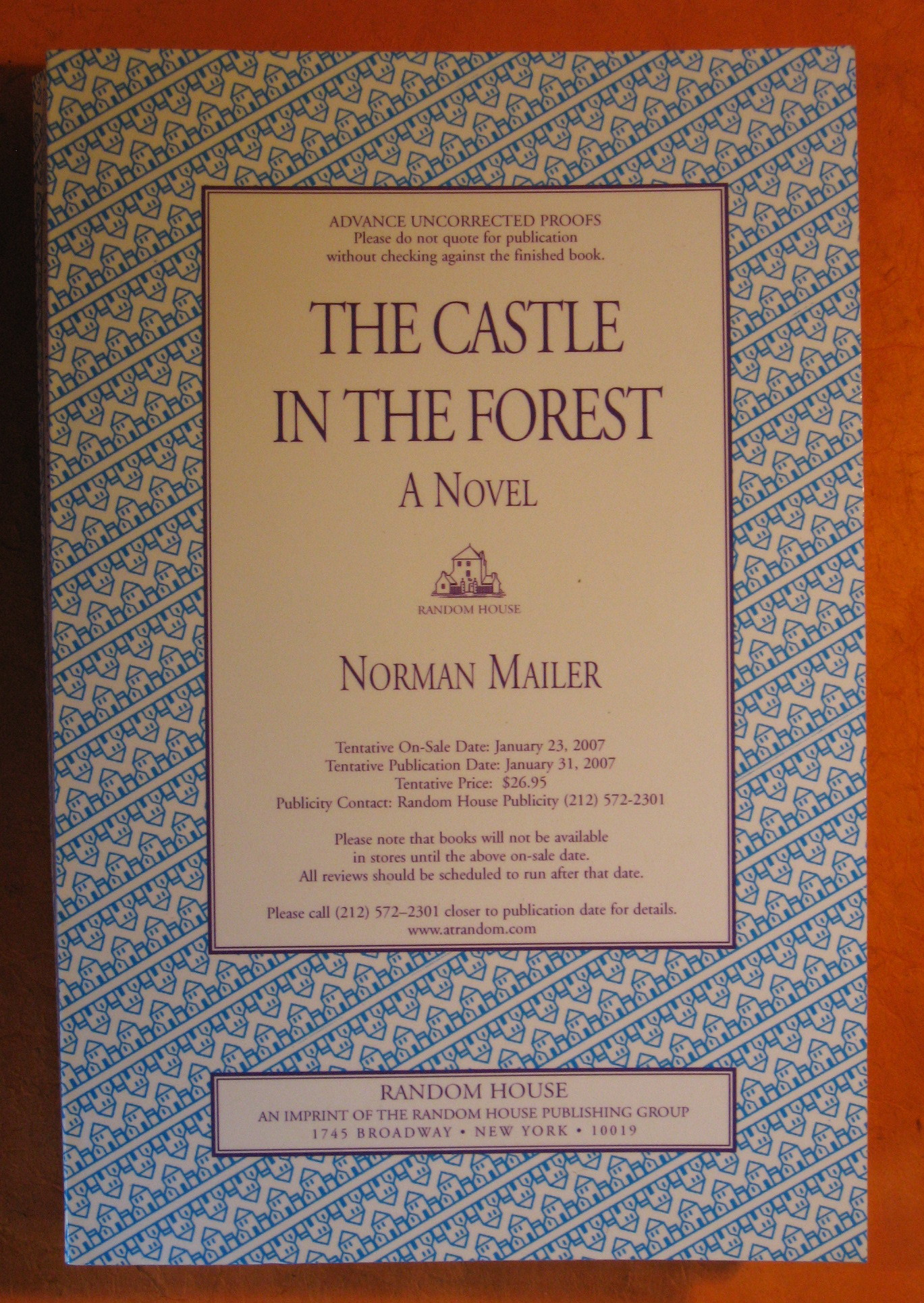 Image for Castle in the Forest, The