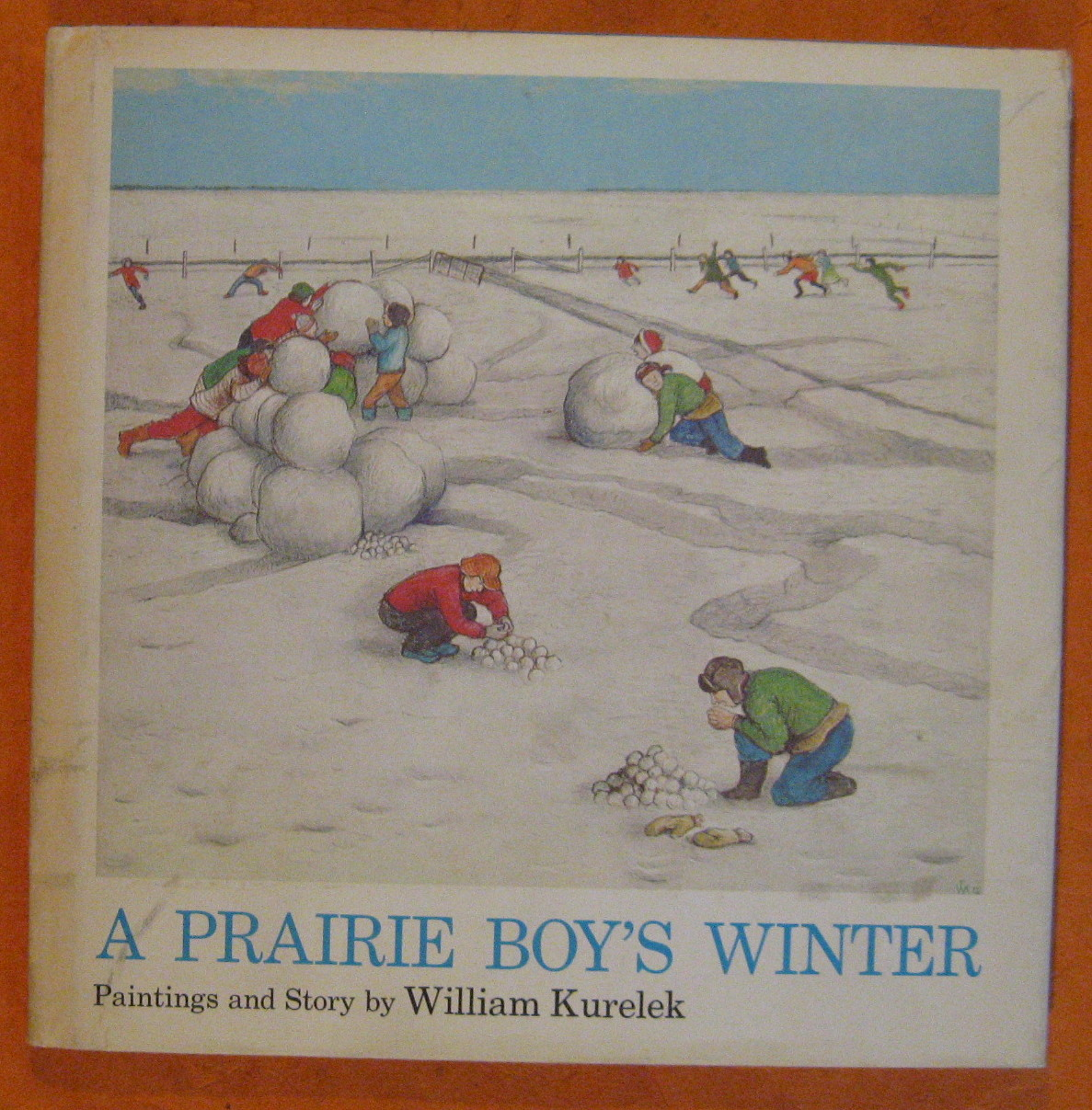 Image for A Prairie Boy's Winter