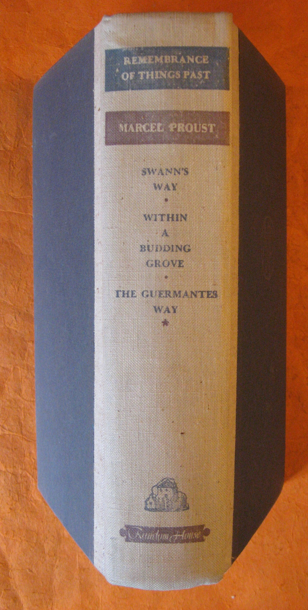 Image for Remembrance of Things Past:  Swann's Way, Within a Budding Grove, The Guermantes Way [ Volume One]