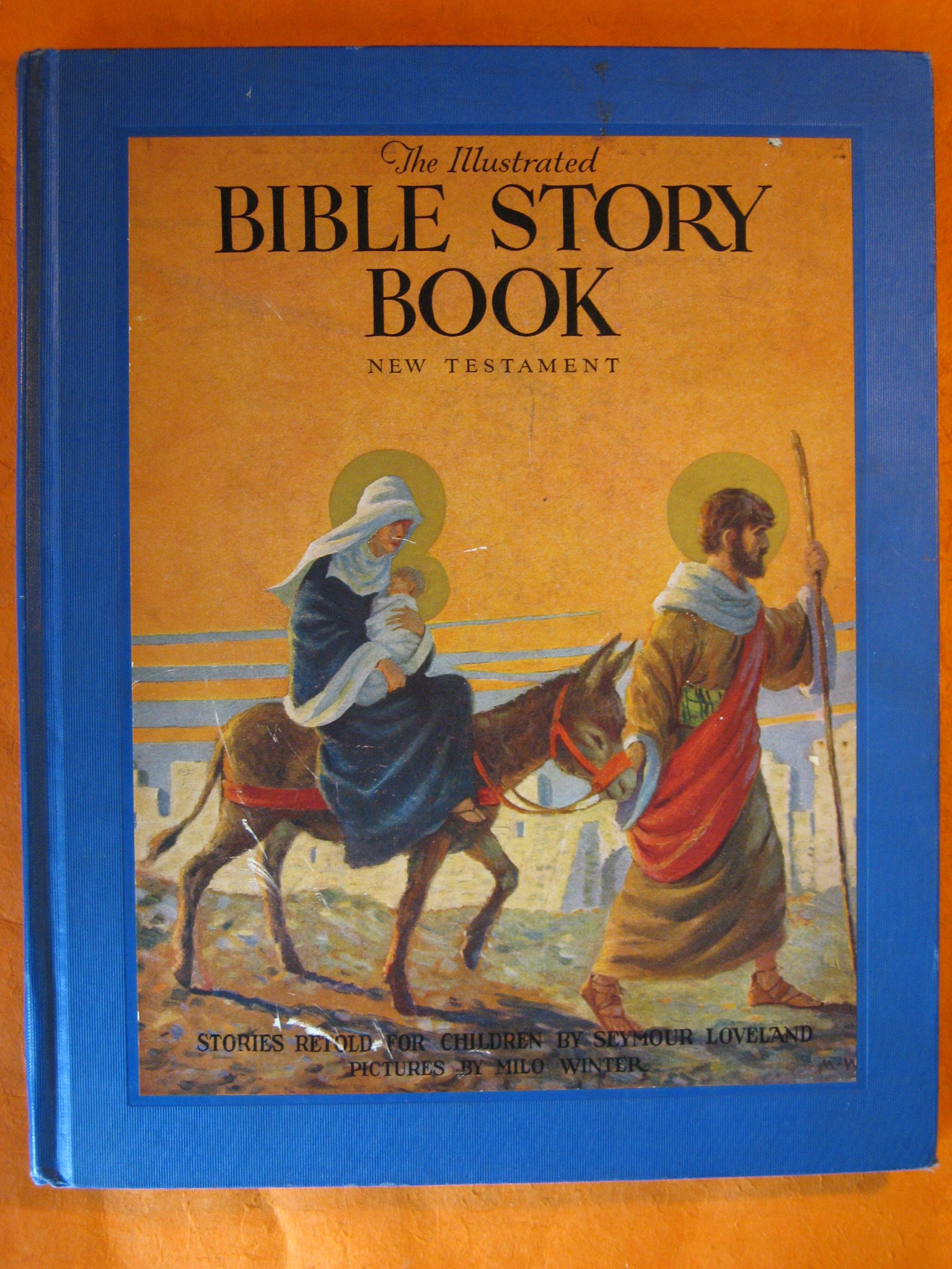Image for The Illustrated Bible Story Book, New Testament