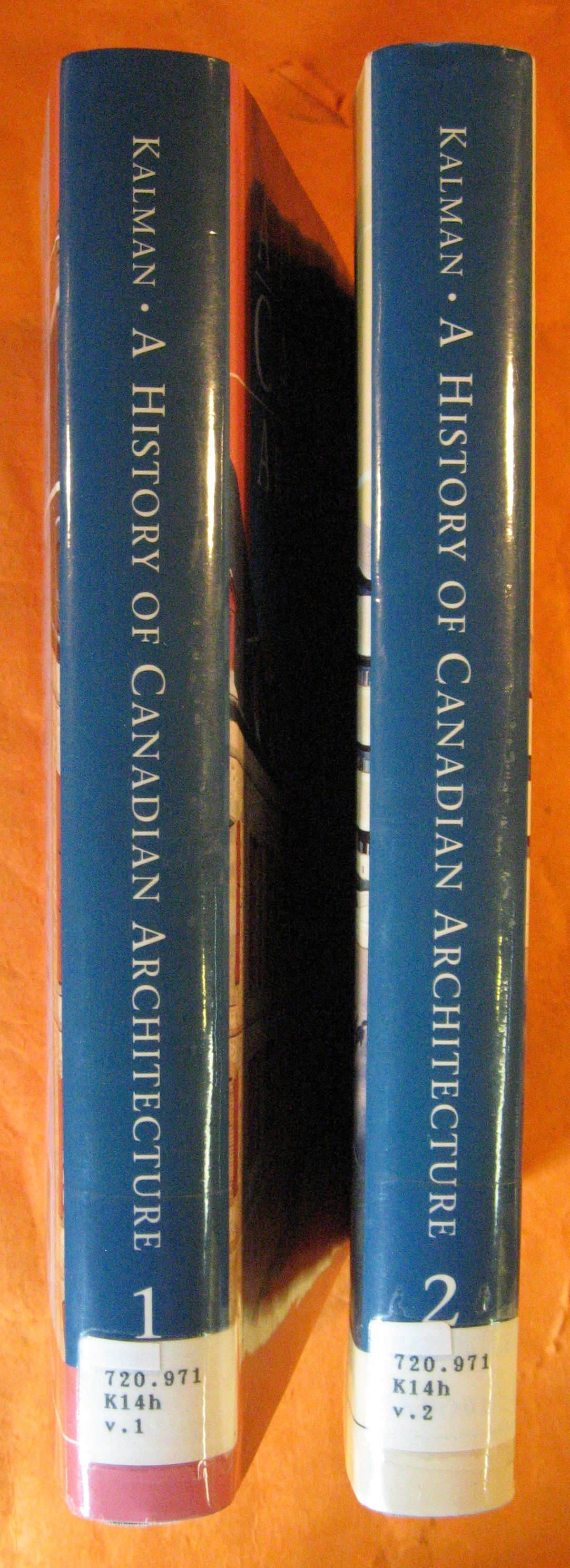 A History of Canadian Architecture: 2 Volume Set
