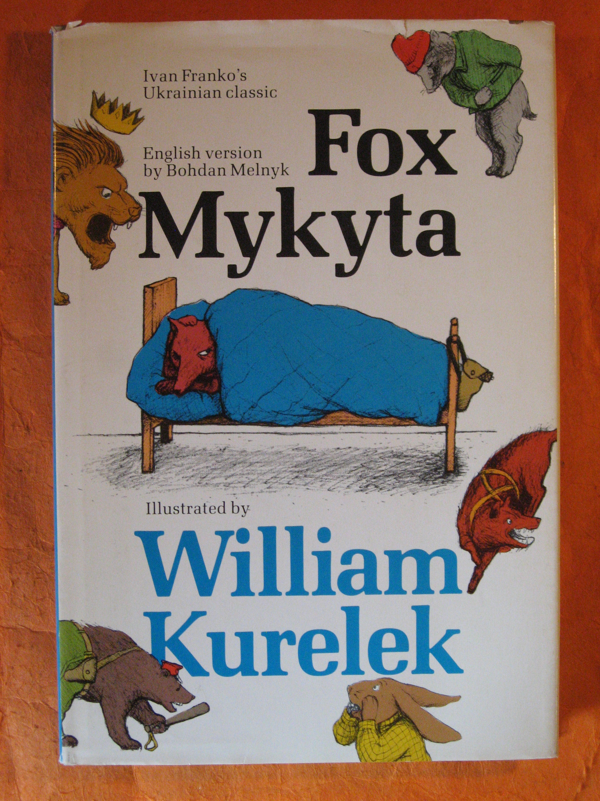 Fox Mykyta / Lys Mykyta (Ivan Franko's Ukrainian Classic)