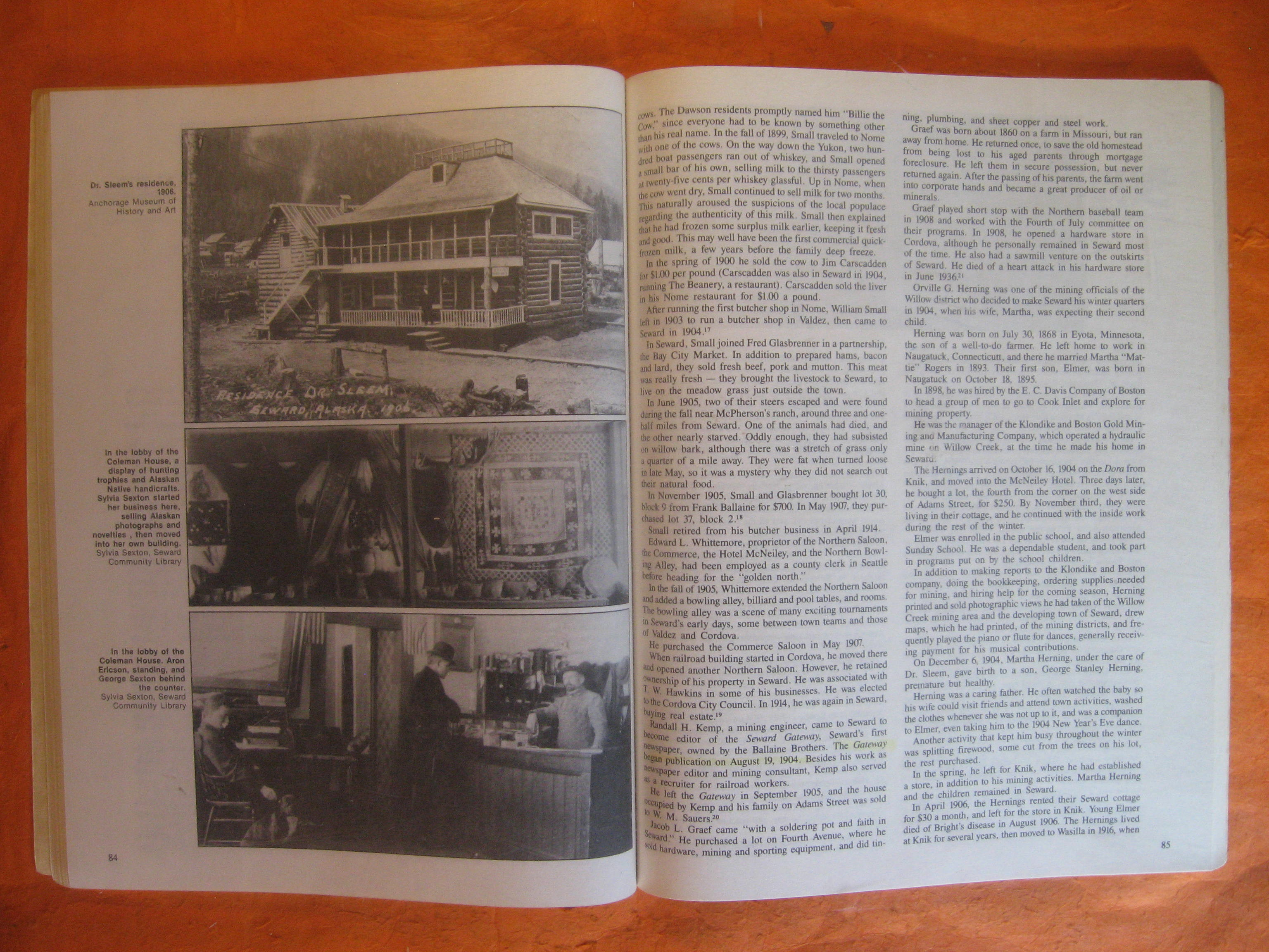 Image for Seward, Alaska:  A History of the Gateway City , Vol. I:  Prehistory to 1914