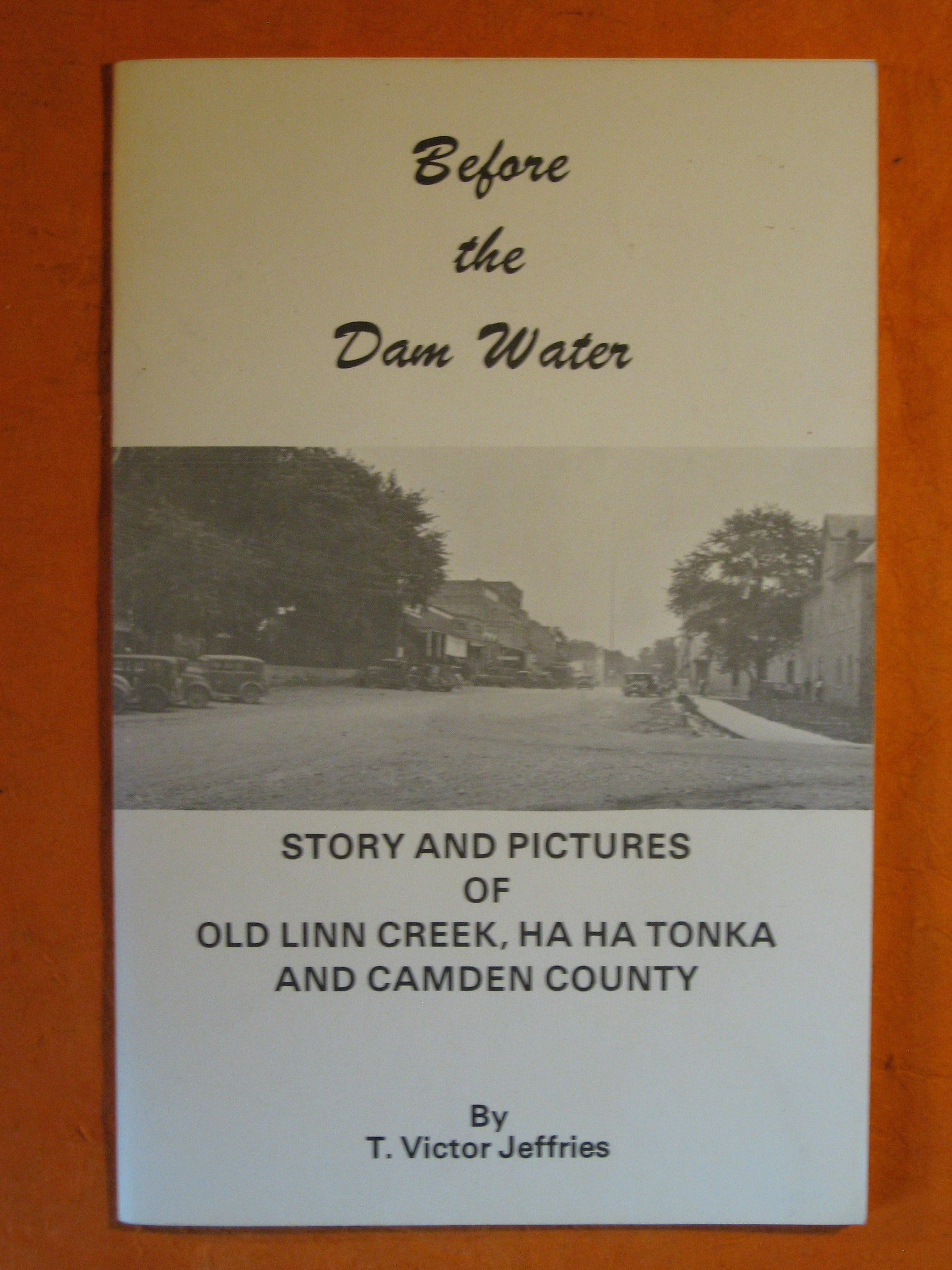 Image for Before the Dam Water:  Story and Pictures of Old Linn Creek, Ha Ha Tonka and Camden County