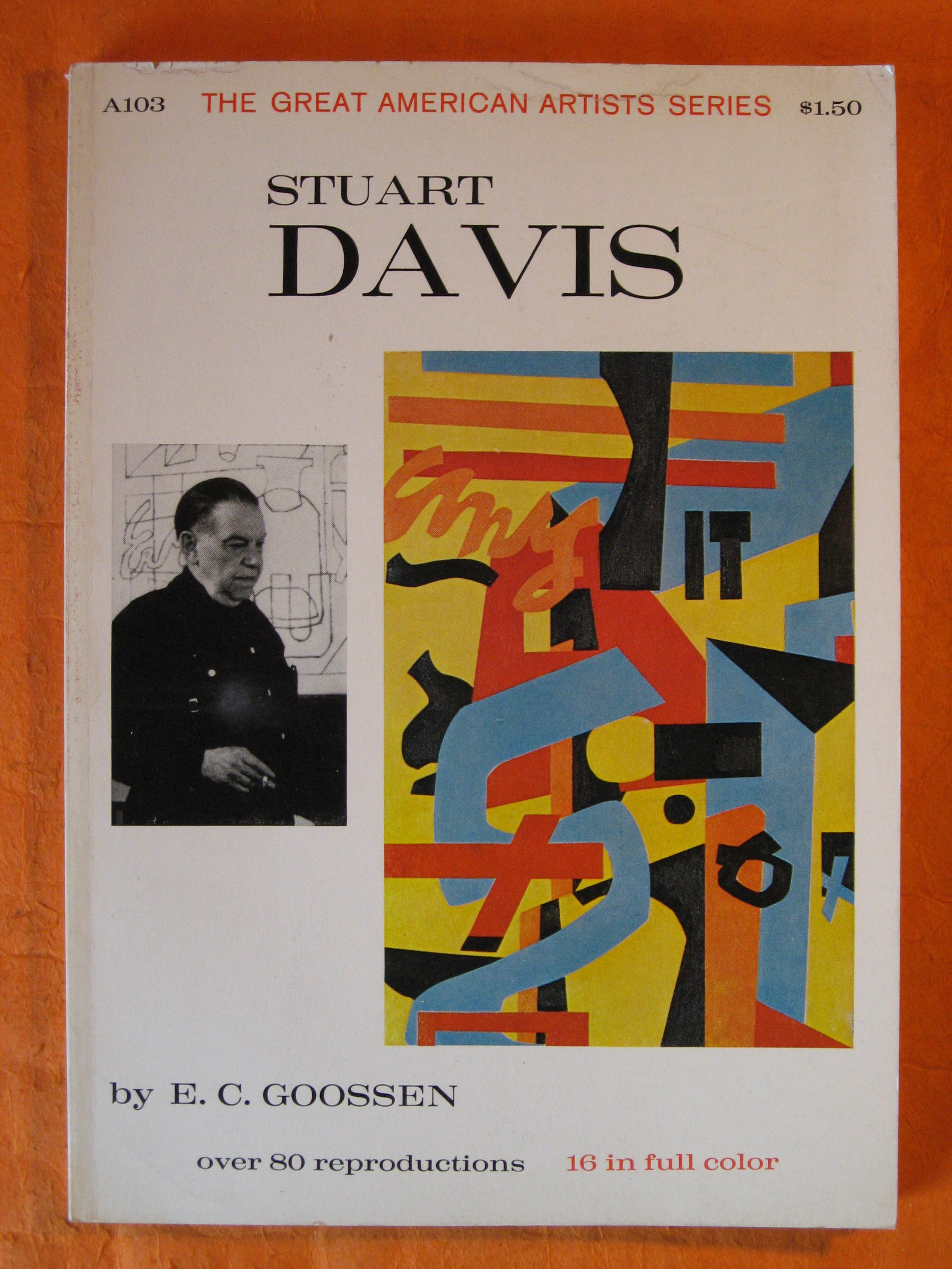 Image for Stuart Davis (The Great American Artists Series)