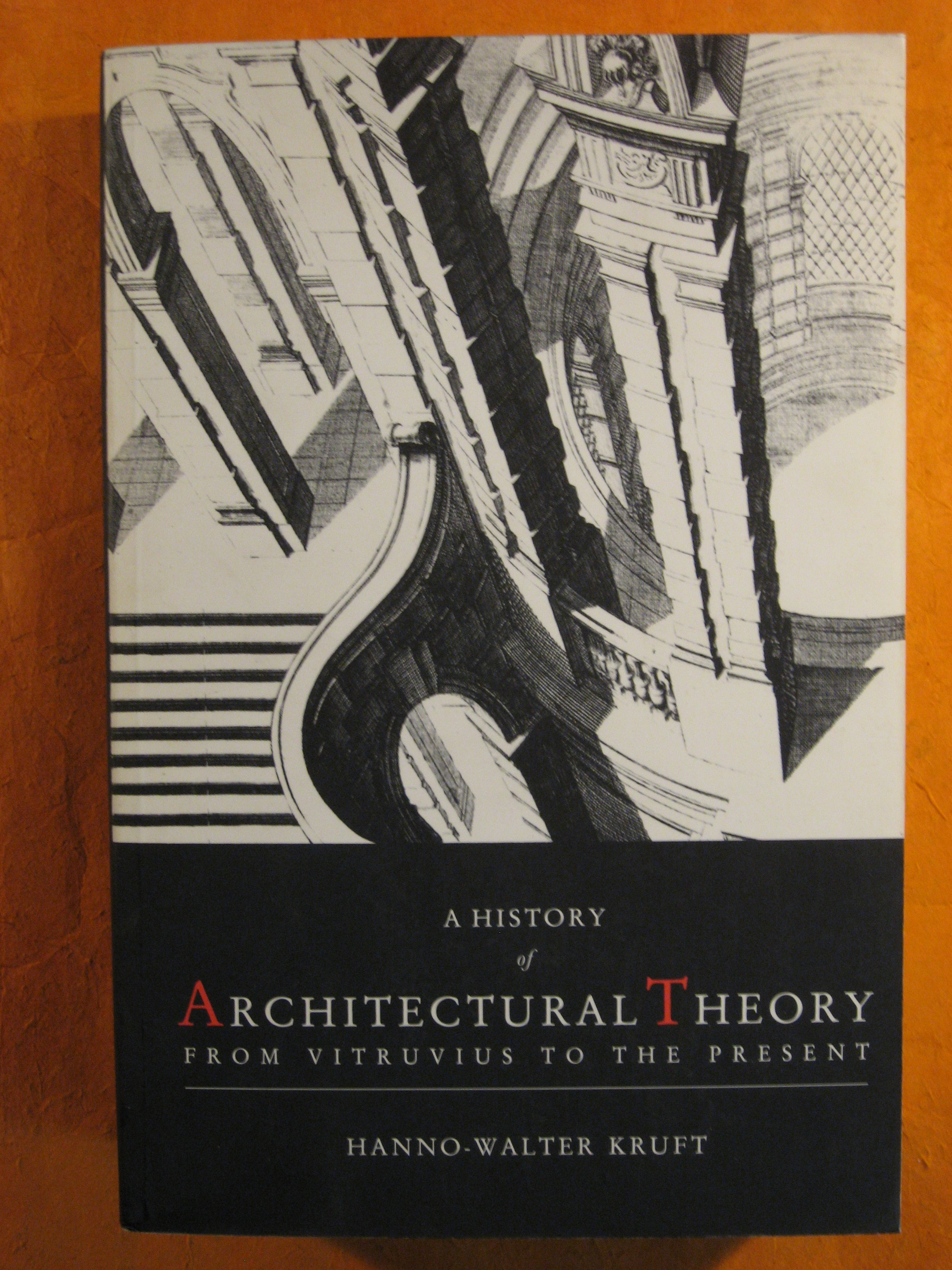 Image for History of Architectural Theory from Vitruvius to the Present