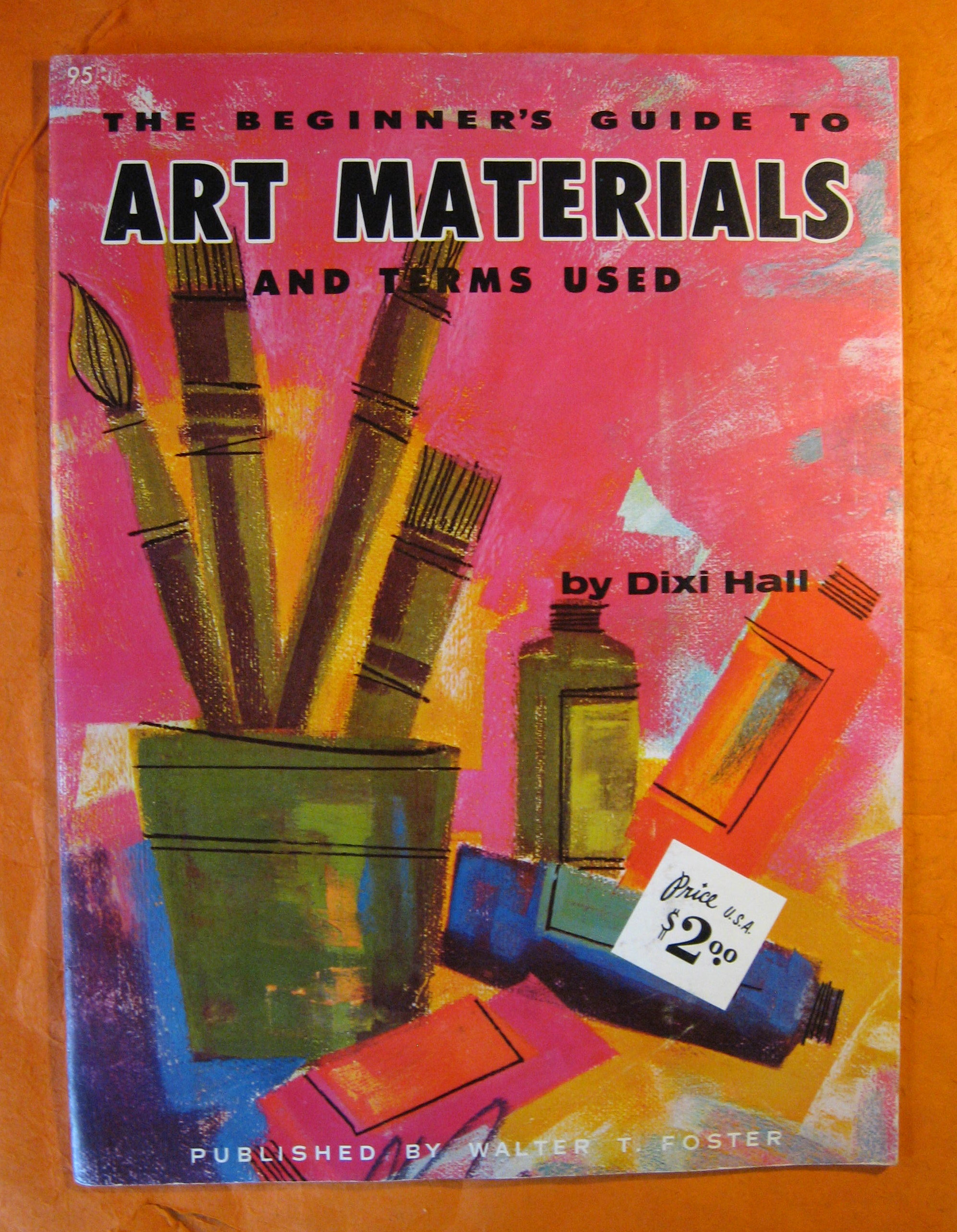 The Beginner's Guide to Art Materials and Terms Used