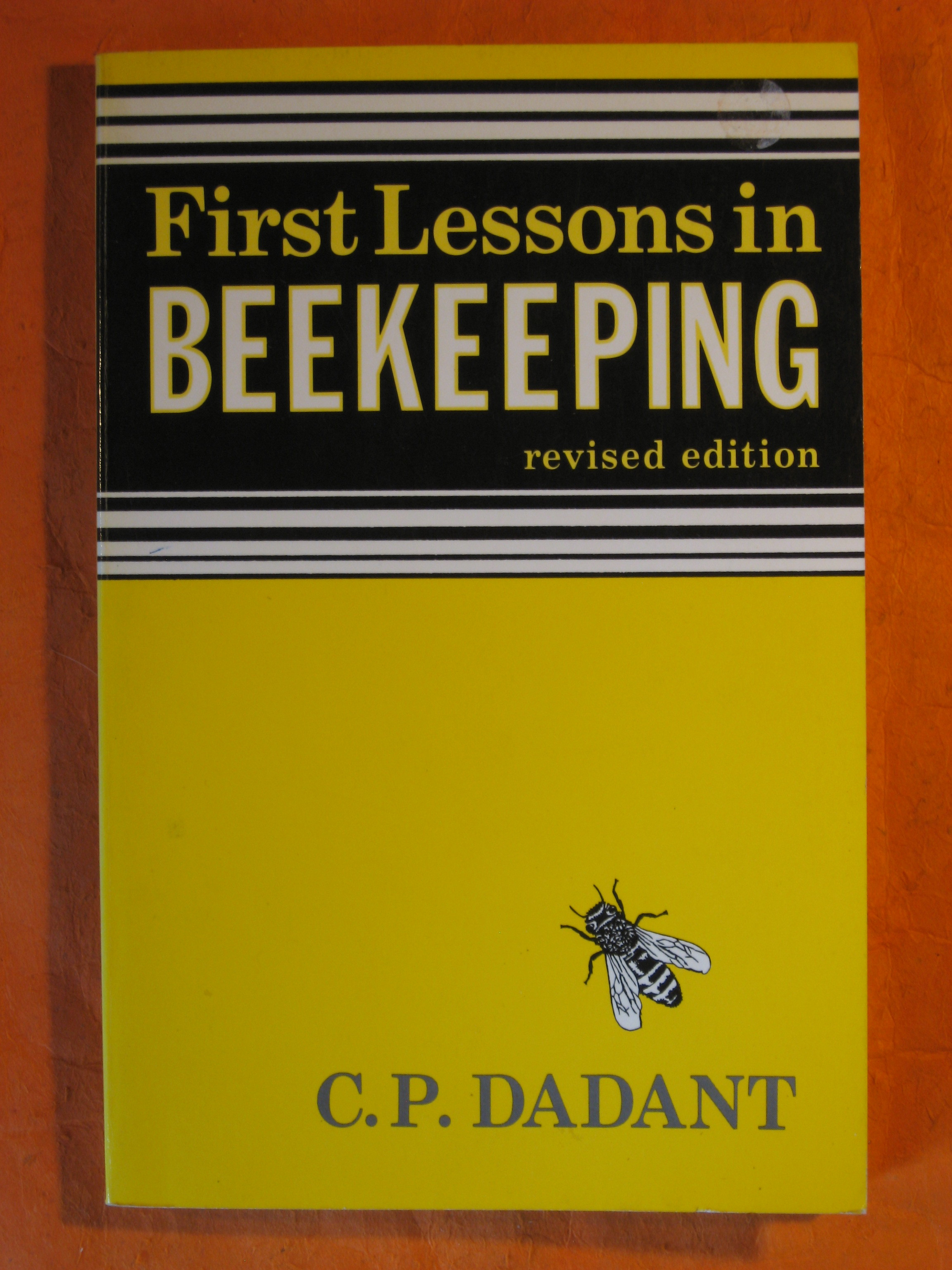 Image for First Lessons in Beekeeping