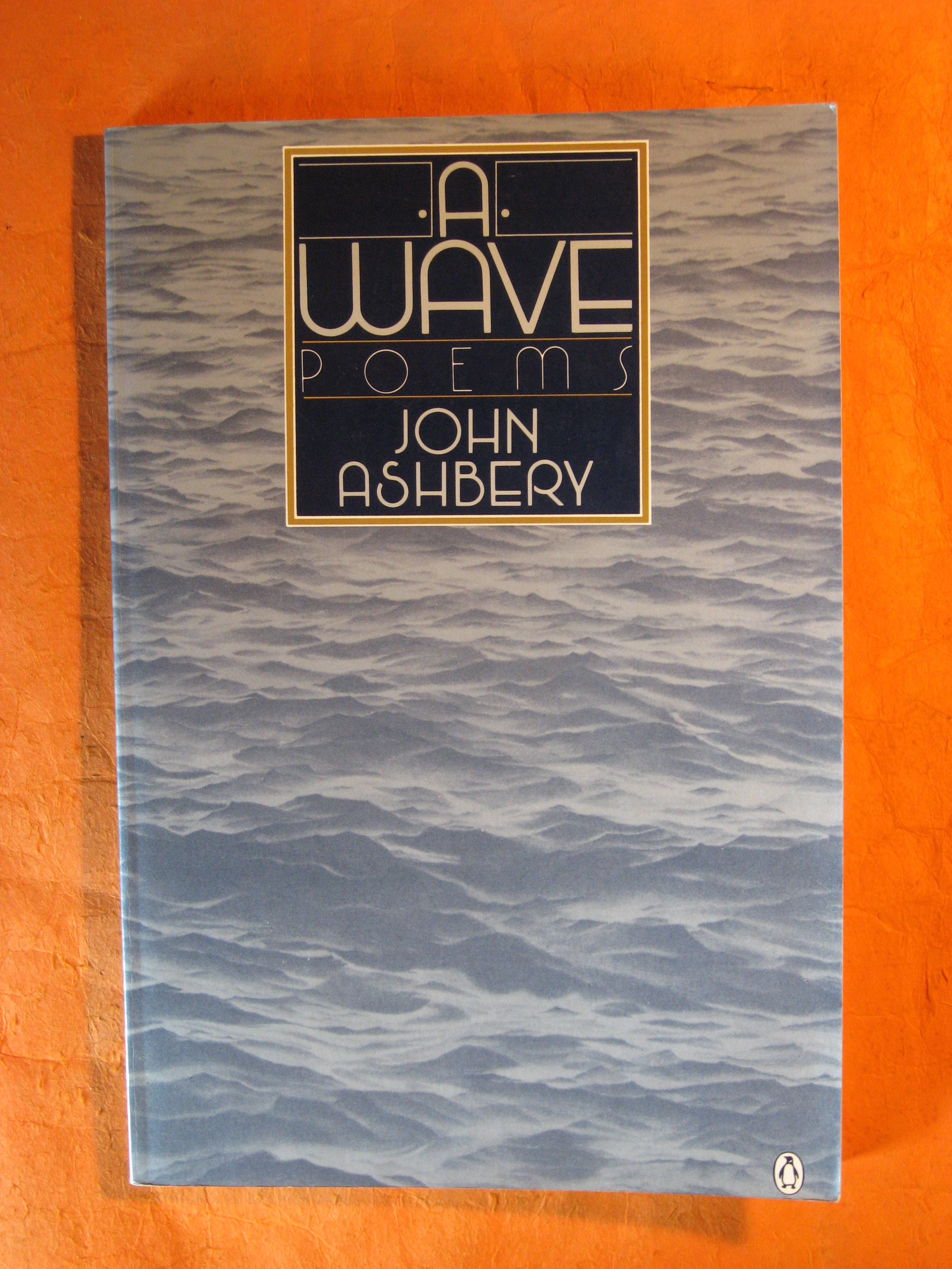 Image for A Wave: Poems