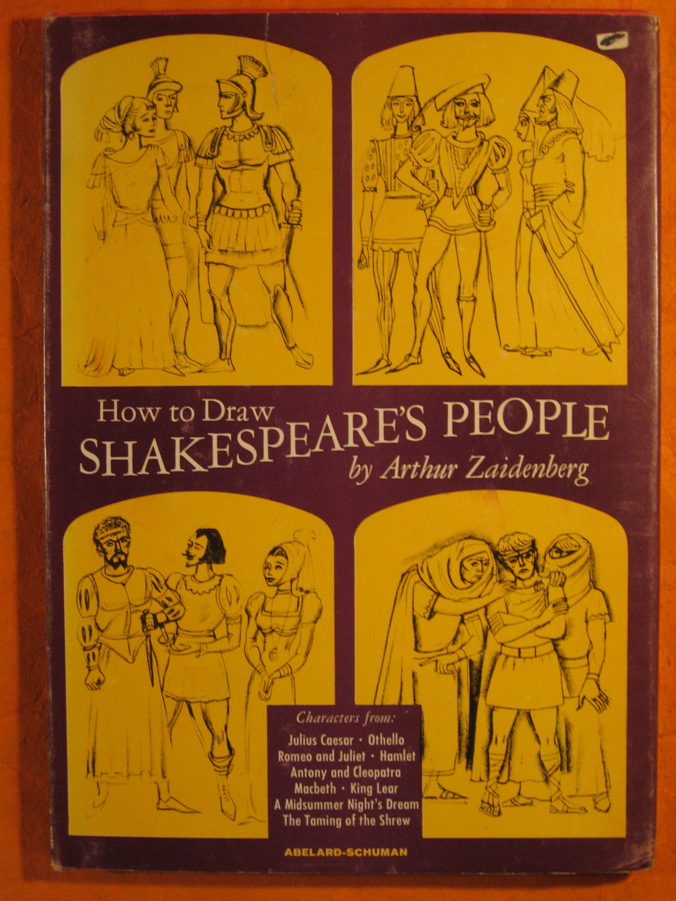 Image for How to Draw Shakespeare's People