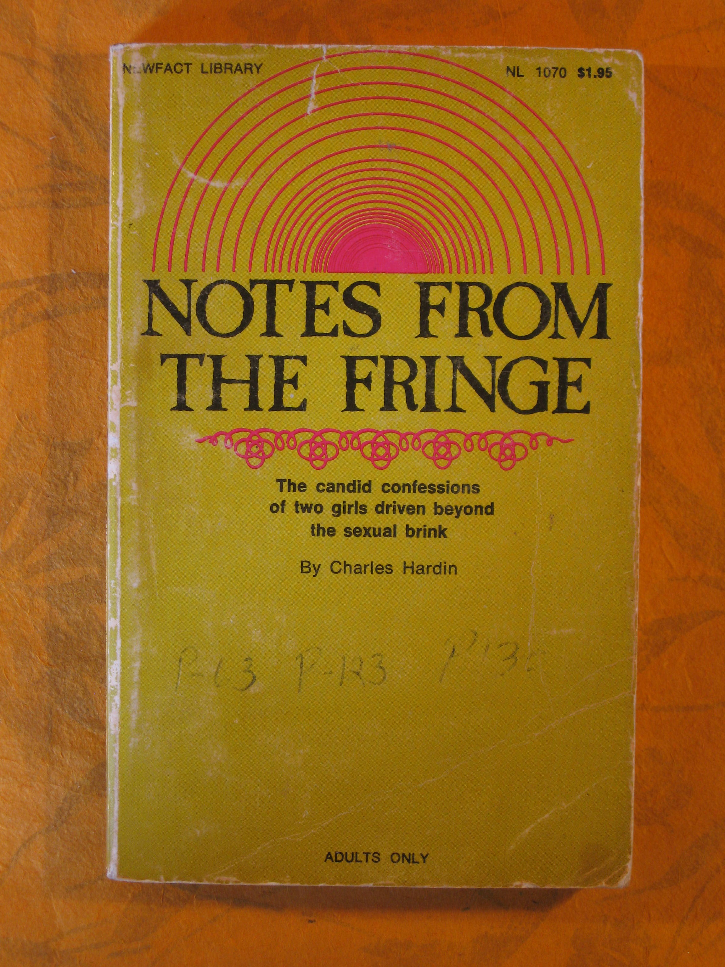 Image for Notes from the Fringe