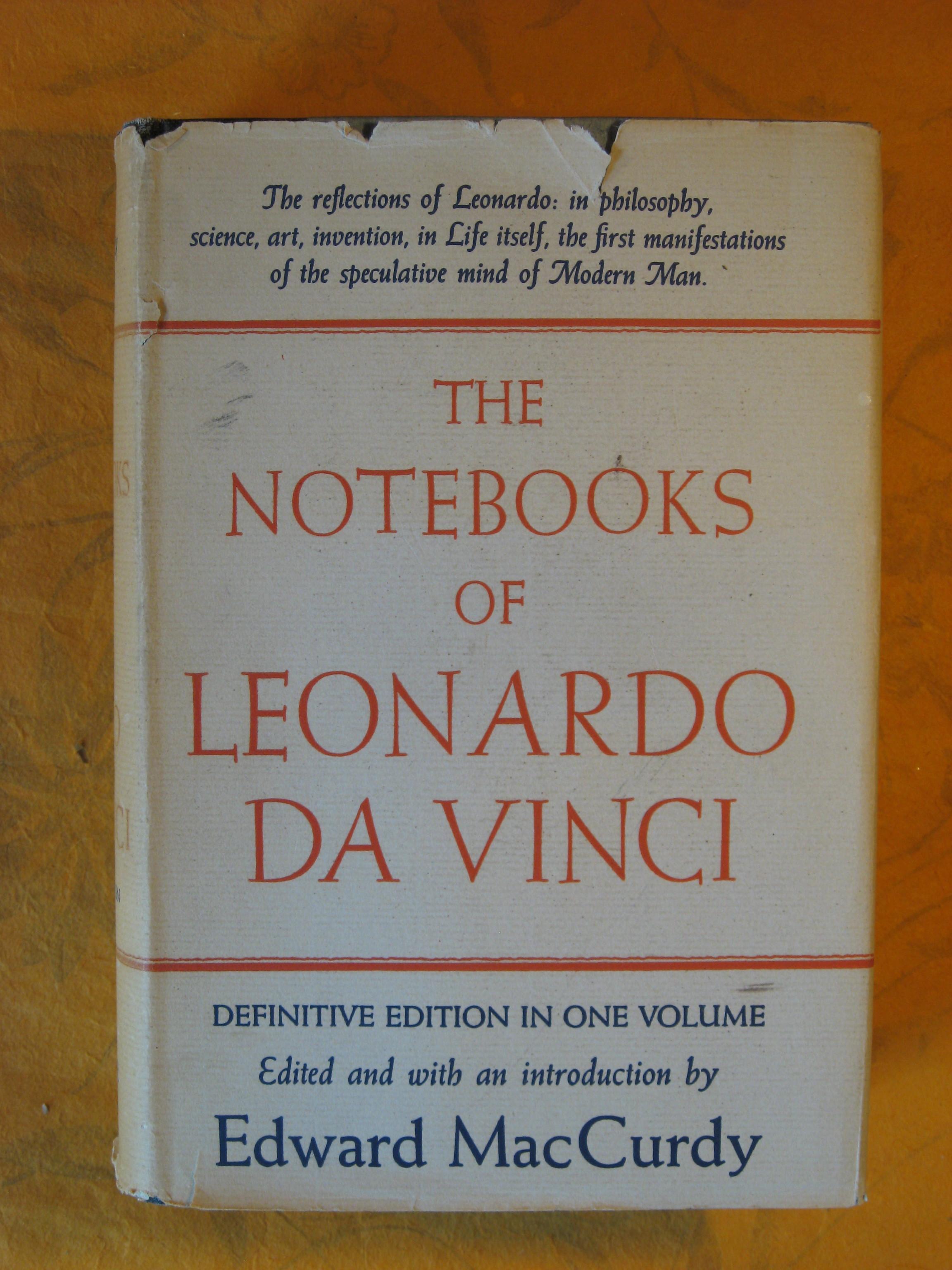 Image for Notebooks of Leonardo Da Vinci the