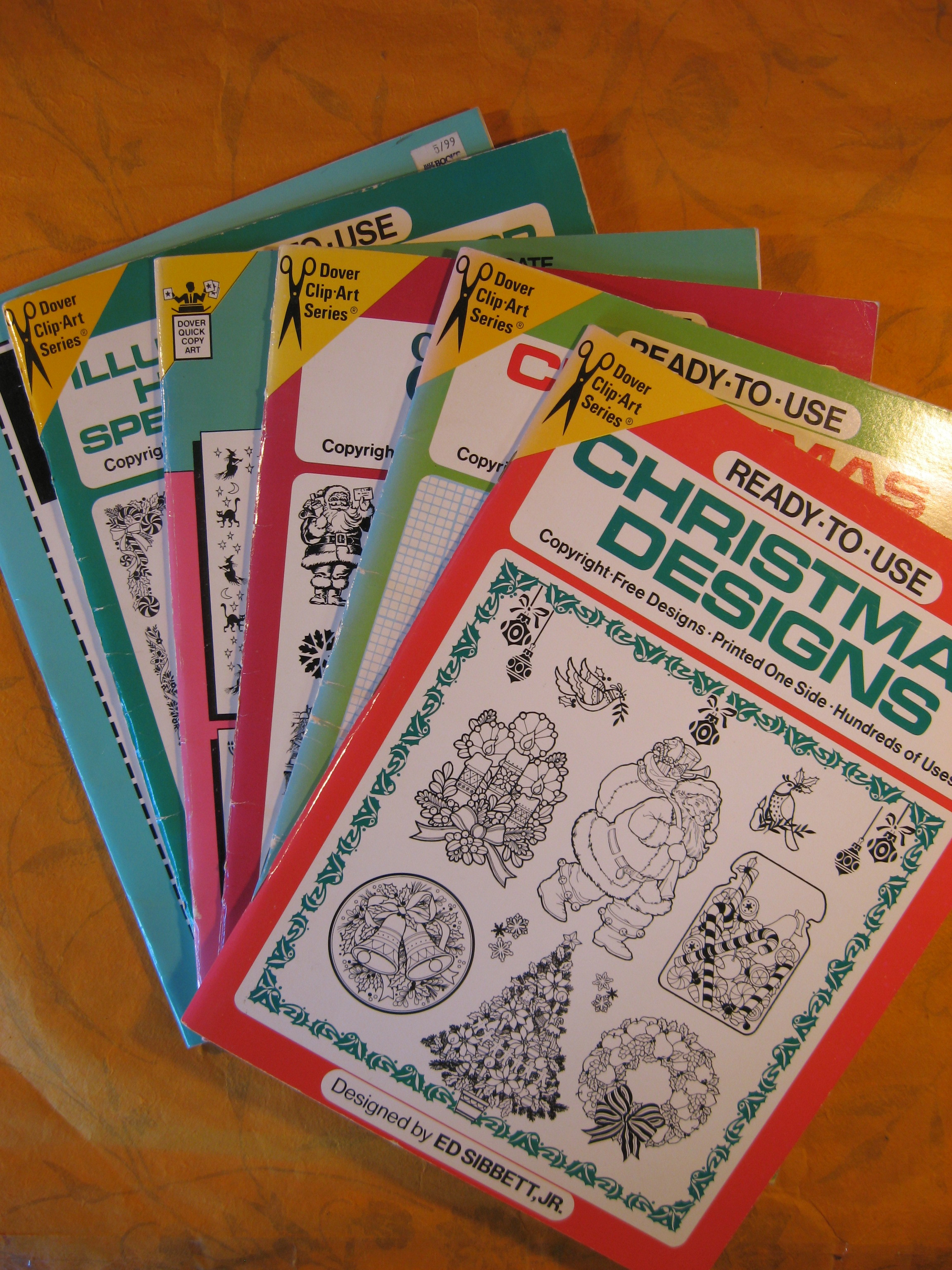 Image for Holiday / Christmas Clip-Art Book Collection - Six Books