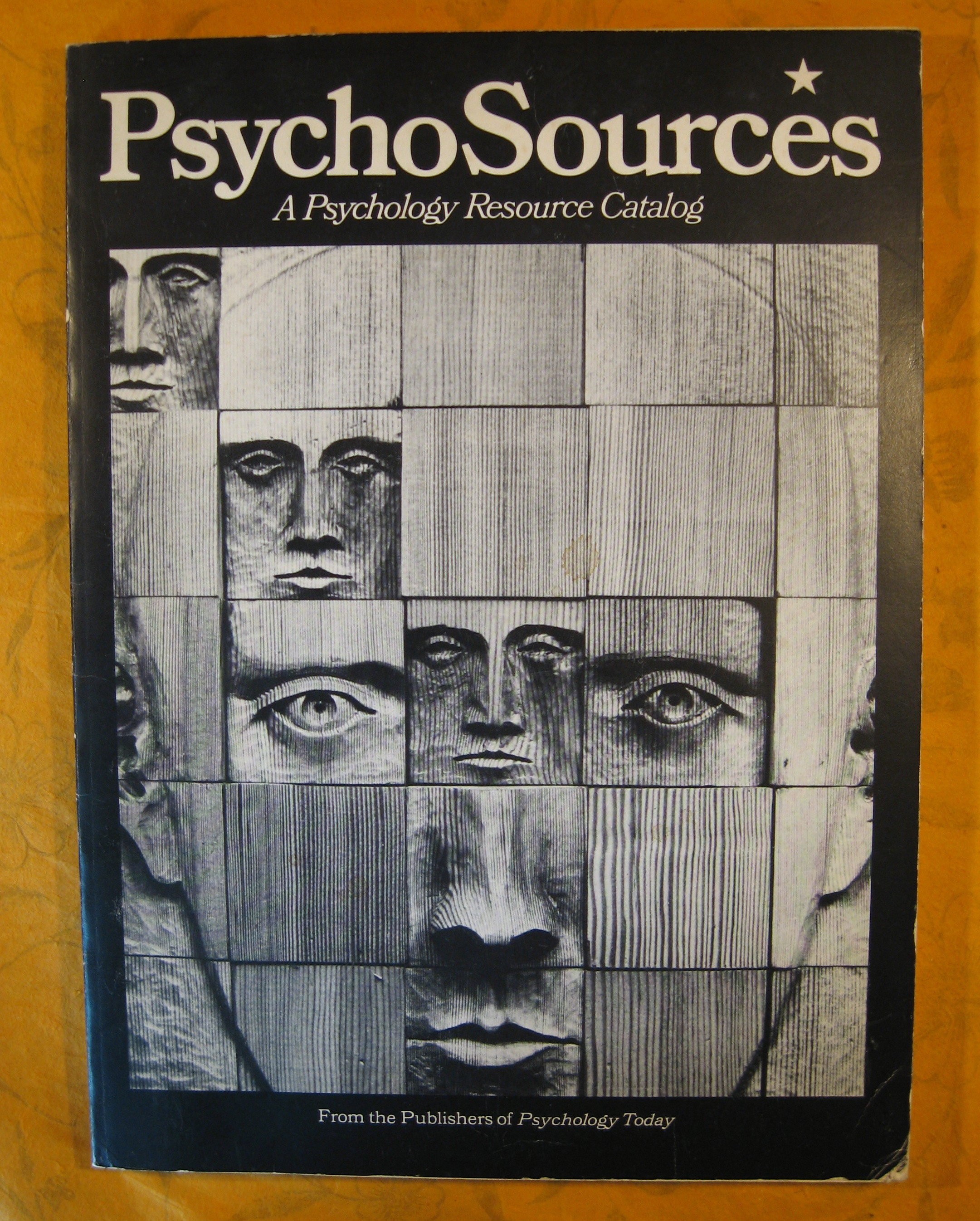 Image for PsychoSources:  A Psychology Resource Catalog